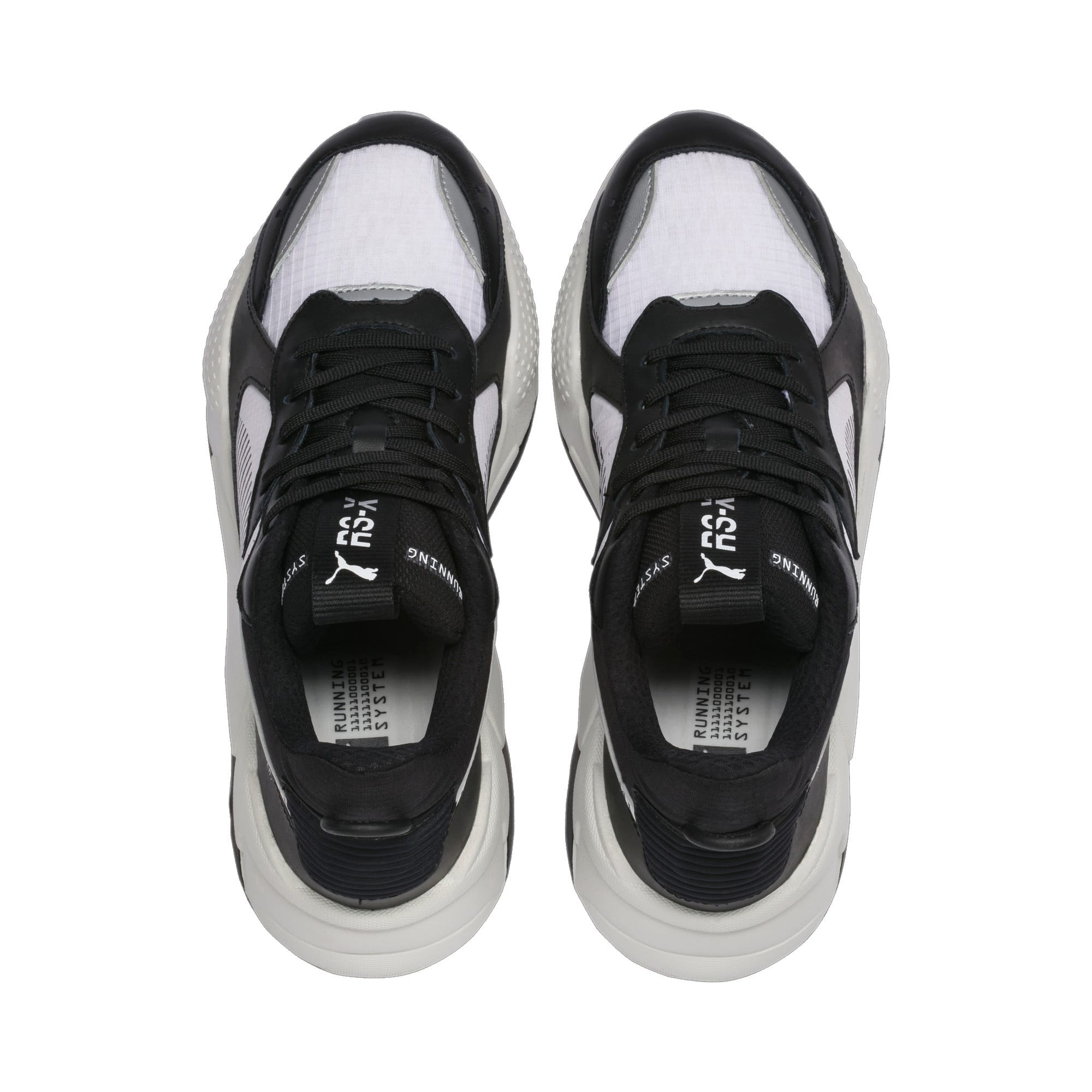 Thumbnail 7 of RS-X TECH スニーカー, Puma Black-Vaporous Gray, medium-JPN