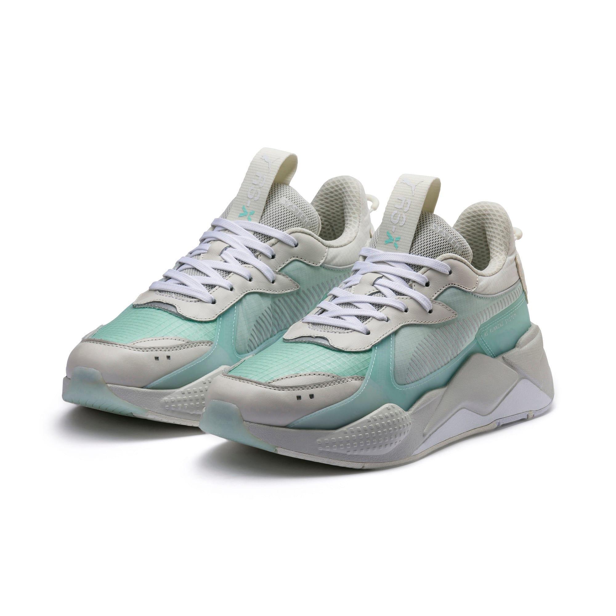 Thumbnail 2 of RS-X Tech Sneaker, Vaporous Gray-Fair Aqua, medium