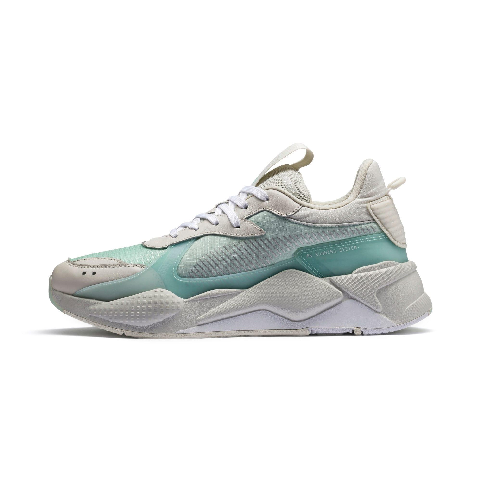 Thumbnail 1 of RS-X Tech Sneaker, Vaporous Gray-Fair Aqua, medium