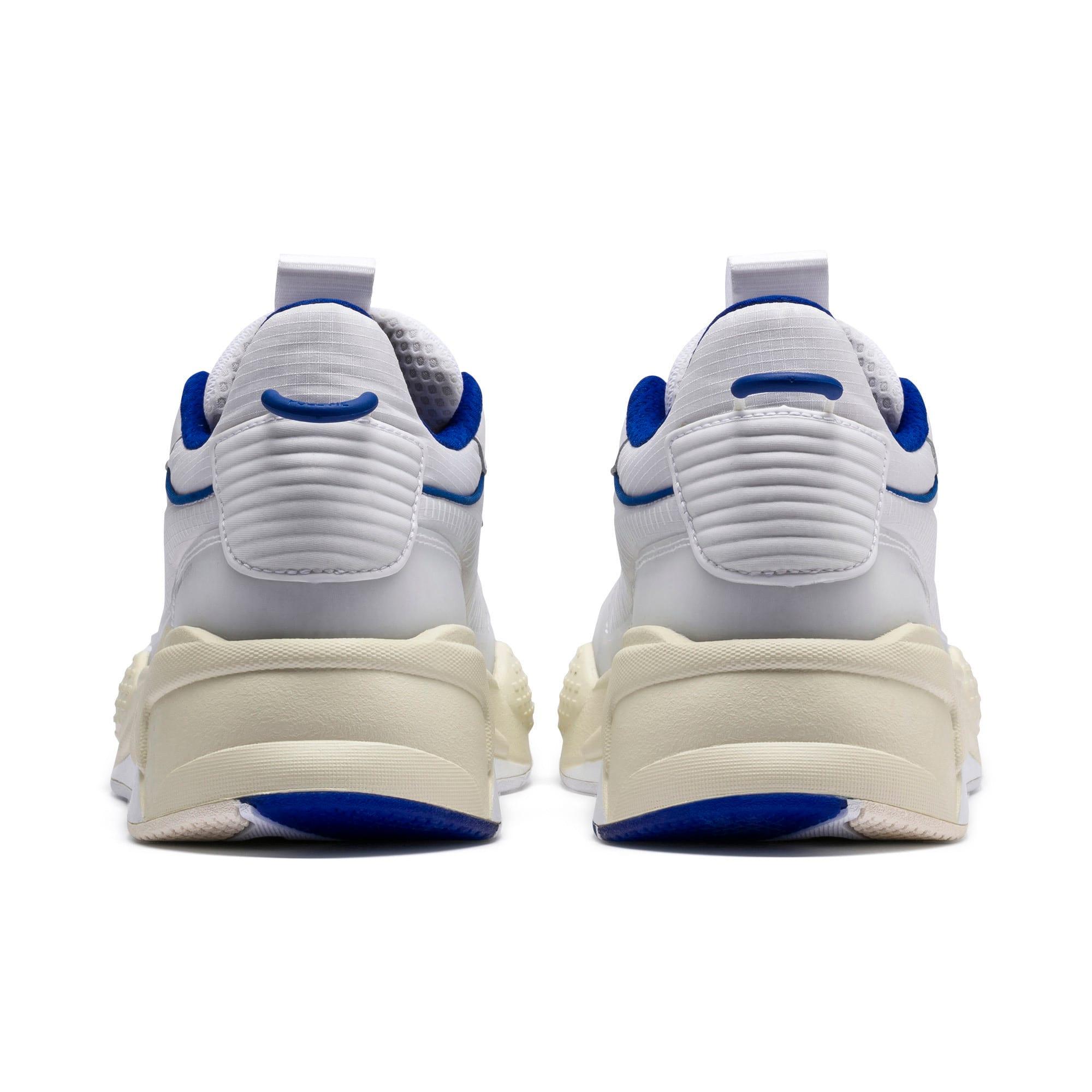Thumbnail 4 of RS-X Tech Sneaker, Puma White-Whisper White, medium