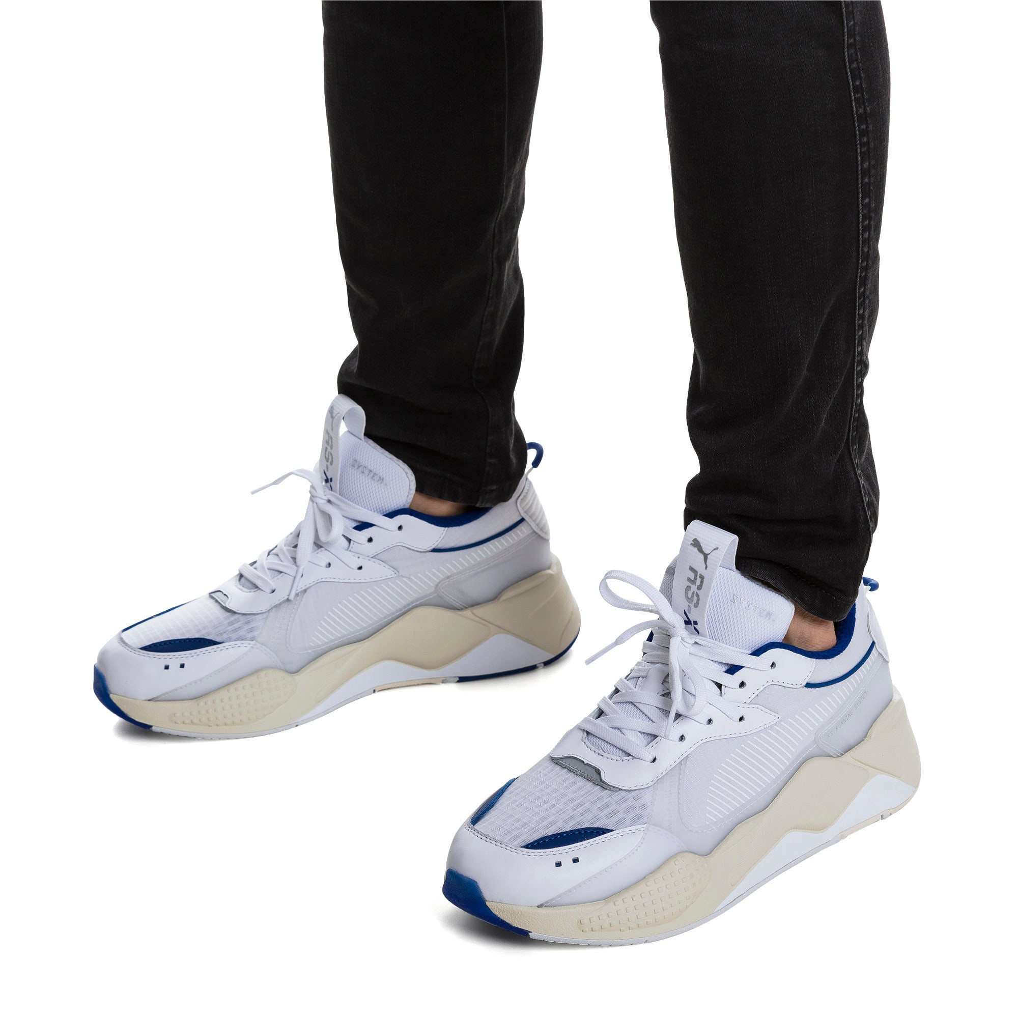 Thumbnail 2 of RS-X Tech Sneaker, Puma White-Whisper White, medium