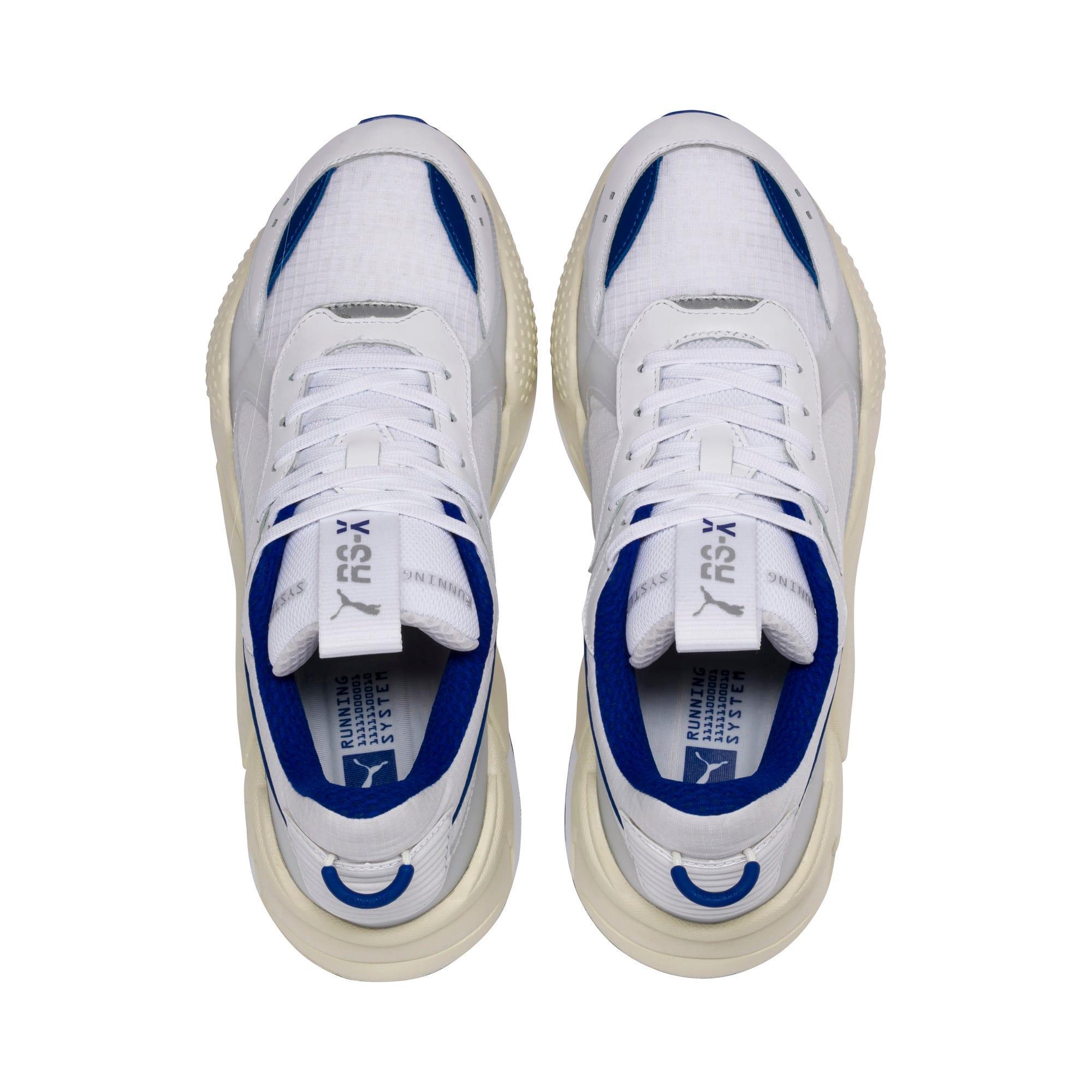 Thumbnail 7 of RS-X Tech Sneaker, Puma White-Whisper White, medium