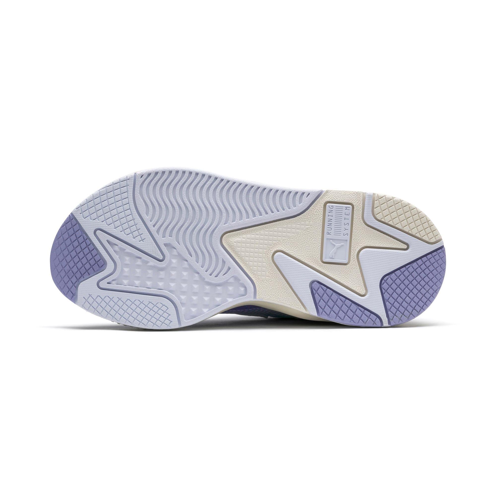Thumbnail 4 of RS-X Tech Sneaker, Puma White-Sweet Lavender, medium