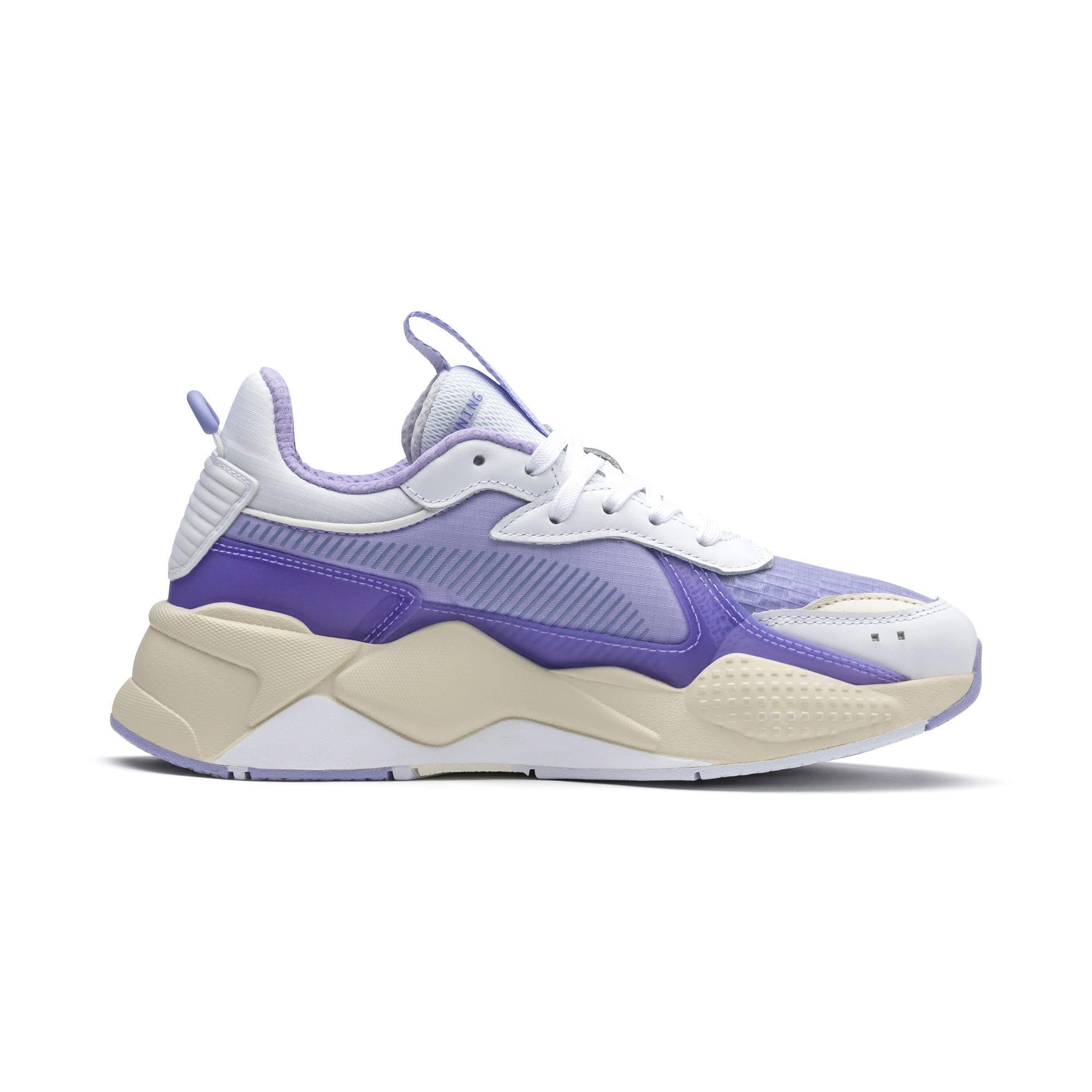 Thumbnail 5 of RS-X Tech Sneaker, Puma White-Sweet Lavender, medium