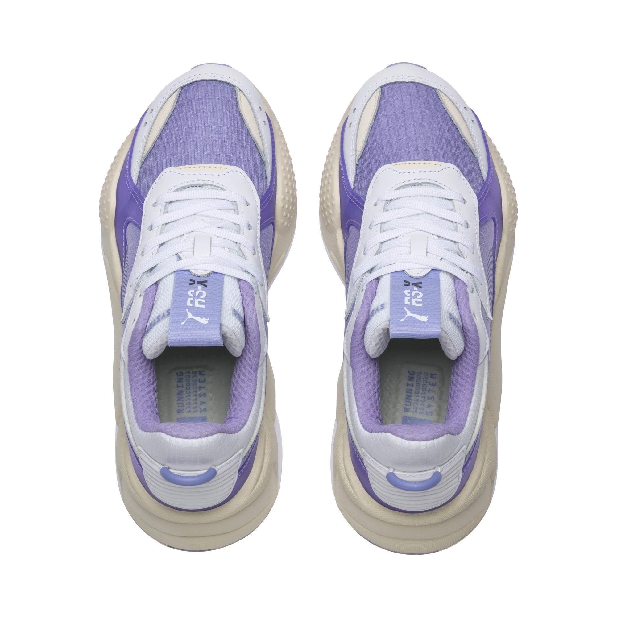 Thumbnail 6 of RS-X Tech Sneaker, Puma White-Sweet Lavender, medium