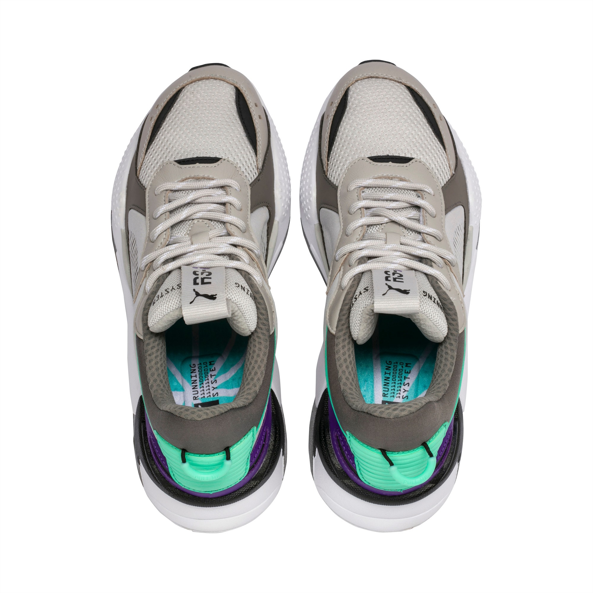 Puma select Rs x Tracks Damskie Grey Violet Charcoal