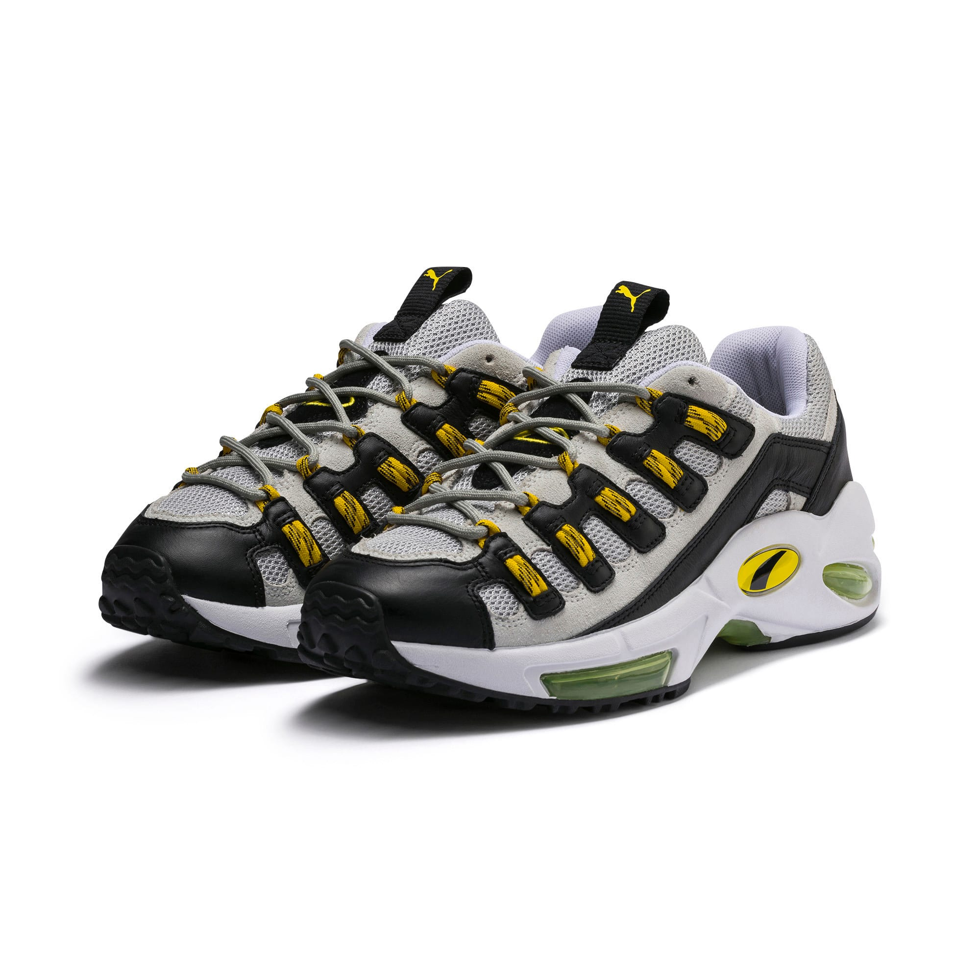 Thumbnail 2 of Cell Endura Trainers, Puma White-Blazing Yellow, medium-IND