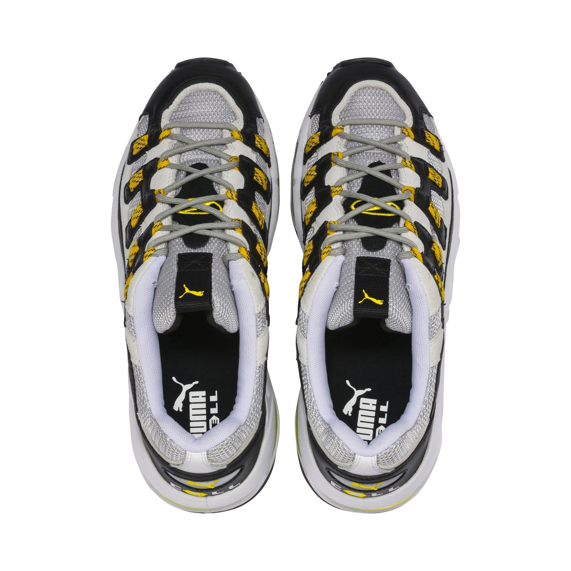 Thumbnail 6 of Cell Endura Trainers, Puma White-Blazing Yellow, medium-IND
