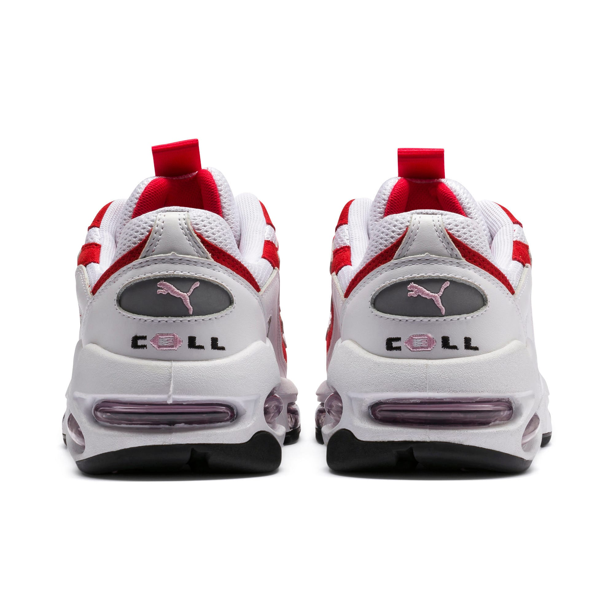 Thumbnail 4 of Cell Endura sneakers, Puma White-Hibiscus, medium