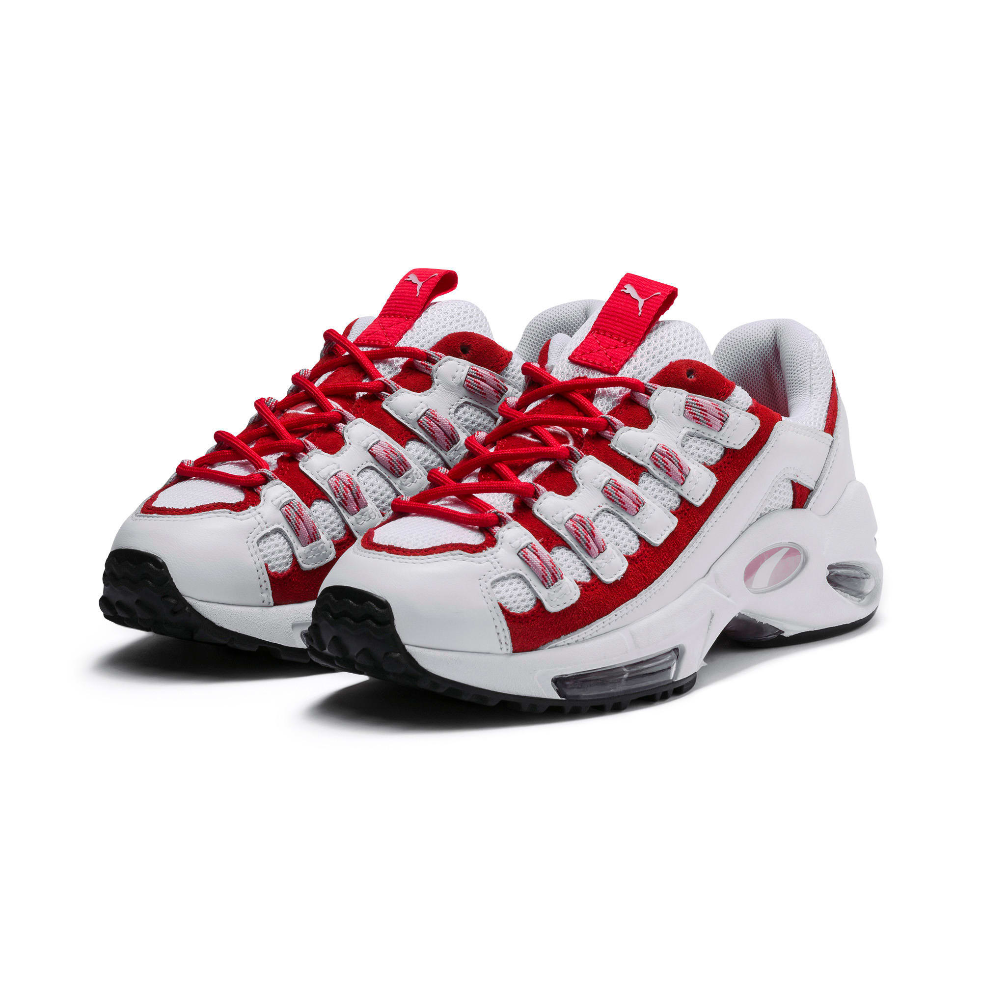 Thumbnail 3 of Cell Endura sneakers, Puma White-Hibiscus, medium