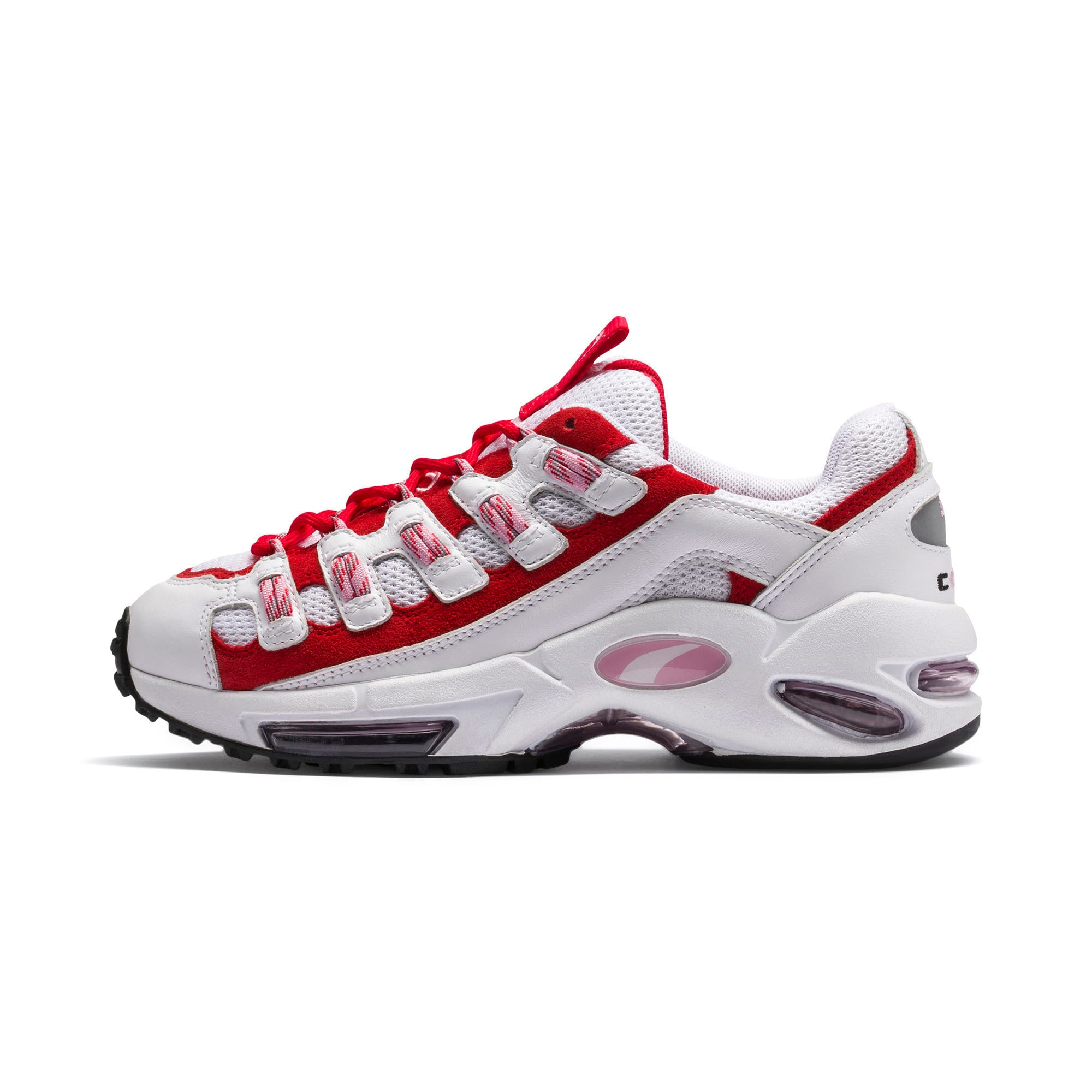 Thumbnail 1 of Cell Endura sneakers, Puma White-Hibiscus, medium