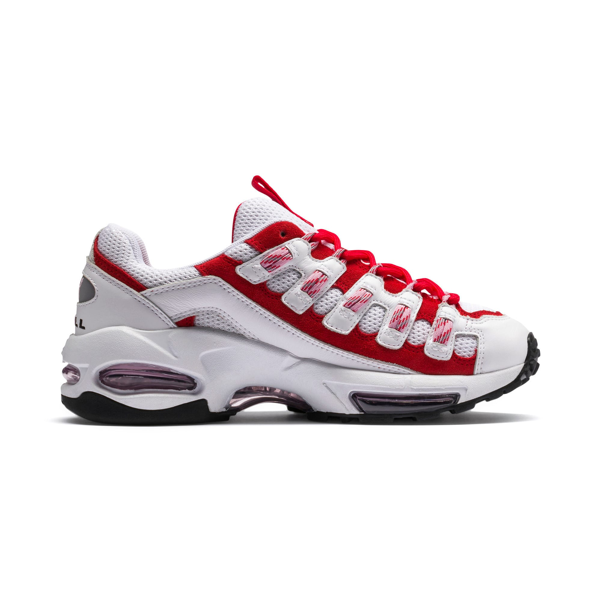 Thumbnail 6 of Cell Endura sneakers, Puma White-Hibiscus, medium