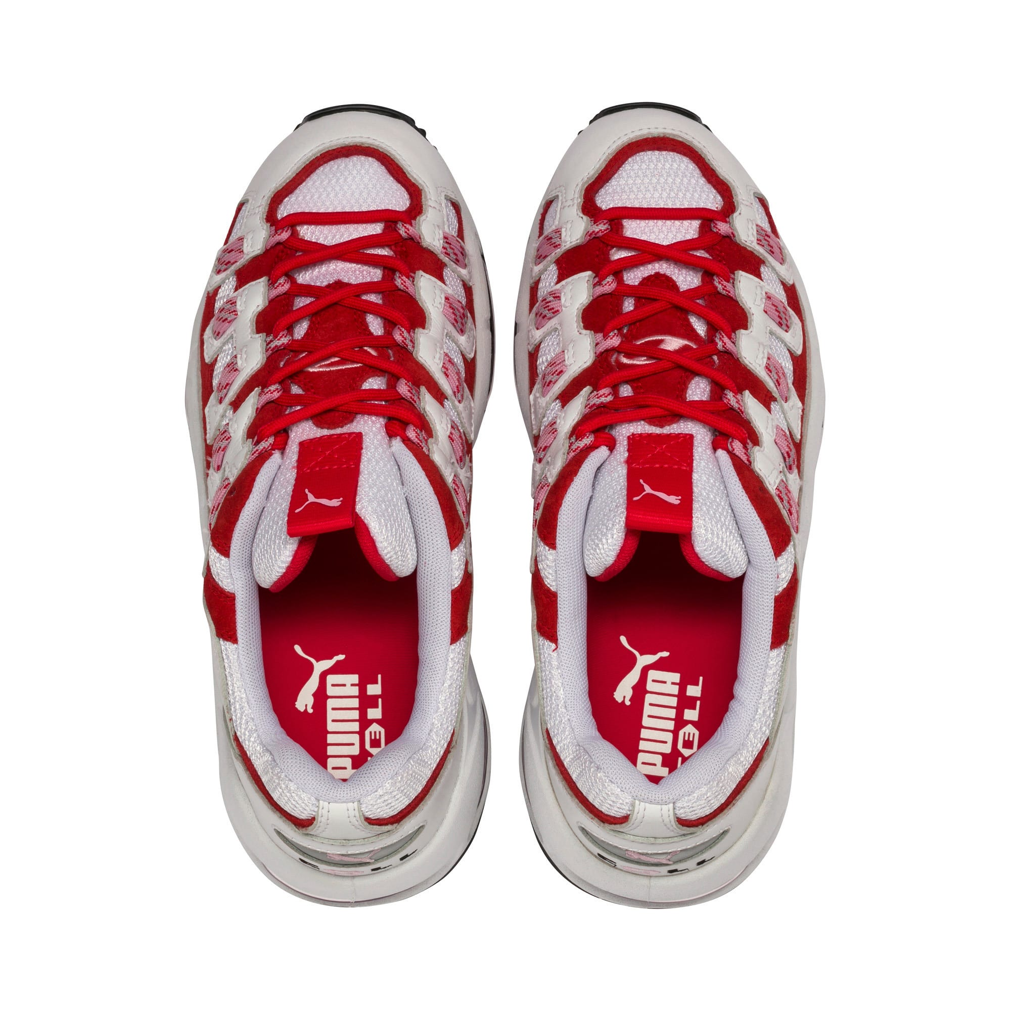 Thumbnail 7 of Cell Endura sneakers, Puma White-Hibiscus, medium