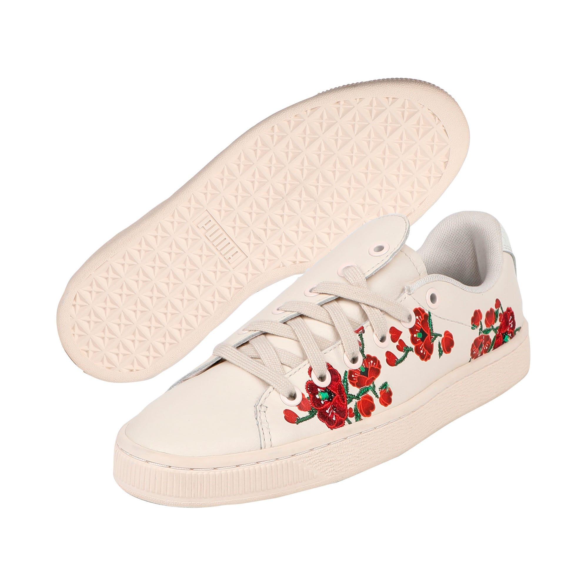 """Thumbnail 3 of PUMA x SUE TSAI """"Cherry Bombs"""" Women's Shoes, Powder Puff-Powder Puff, medium-IND"""