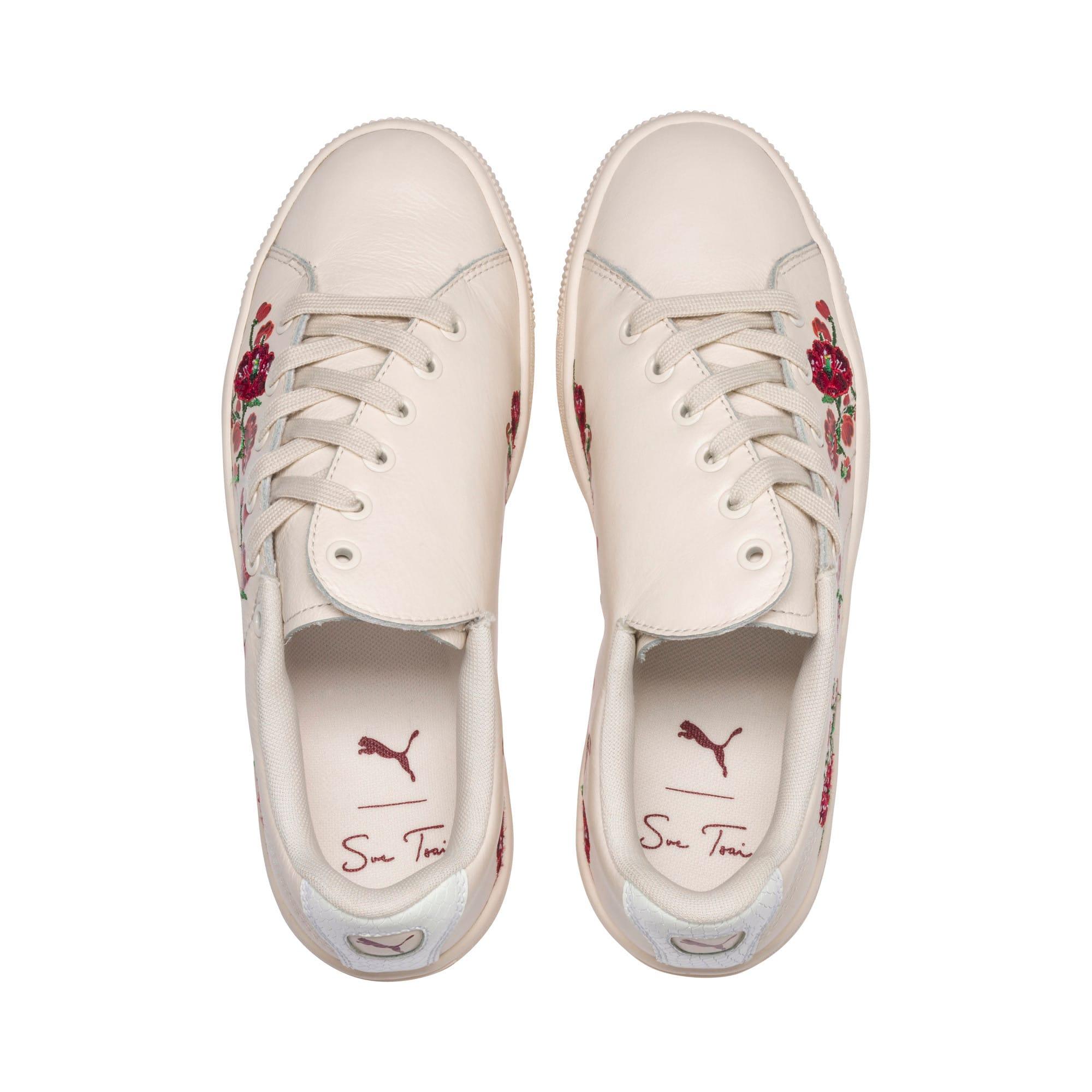 """Thumbnail 7 of PUMA x SUE TSAI """"Cherry Bombs"""" Women's Shoes, Powder Puff-Powder Puff, medium-IND"""