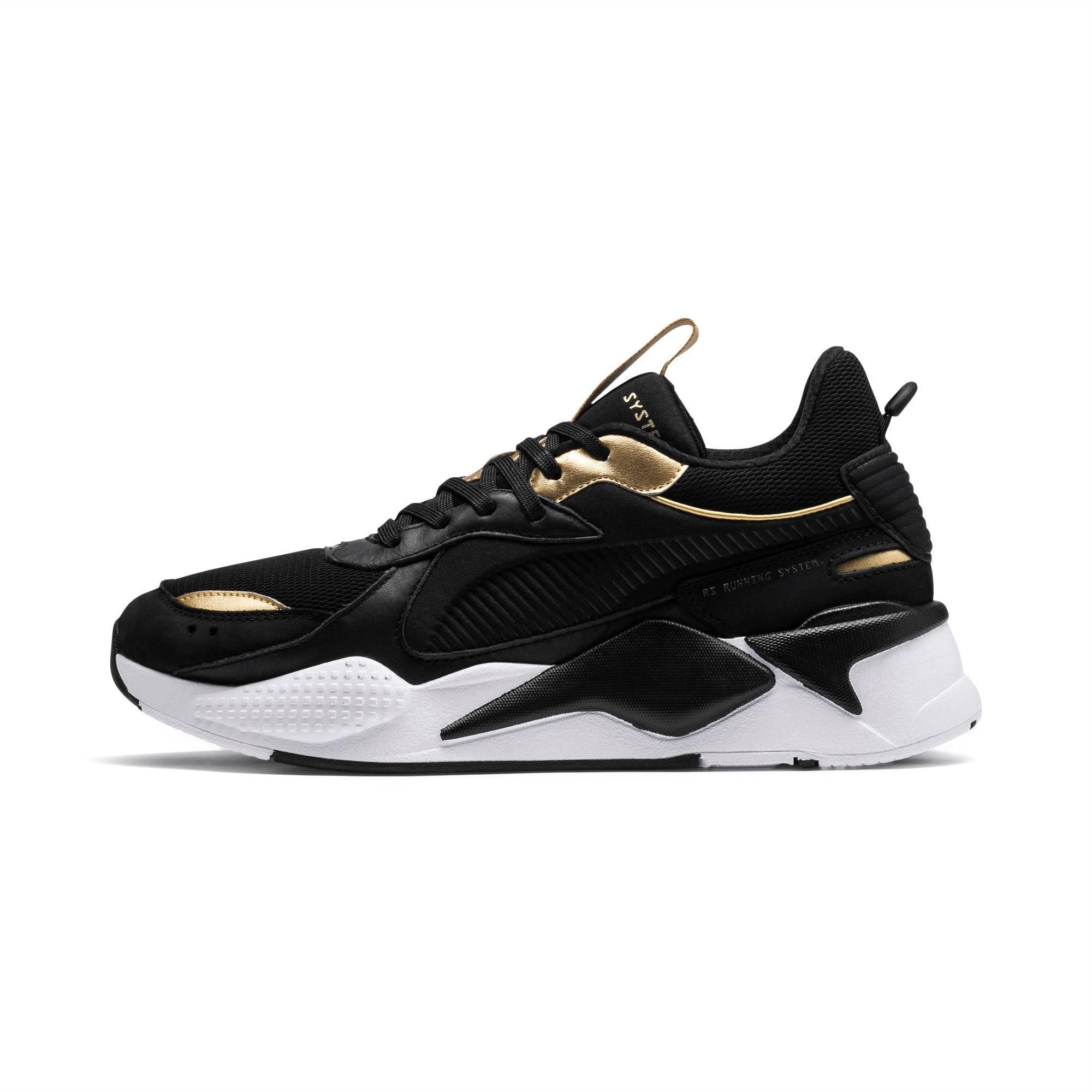 bala Poderoso a la deriva  RS-X TROPHY Shoes | Puma Black-Puma Team Gold | PUMA Low | PUMA