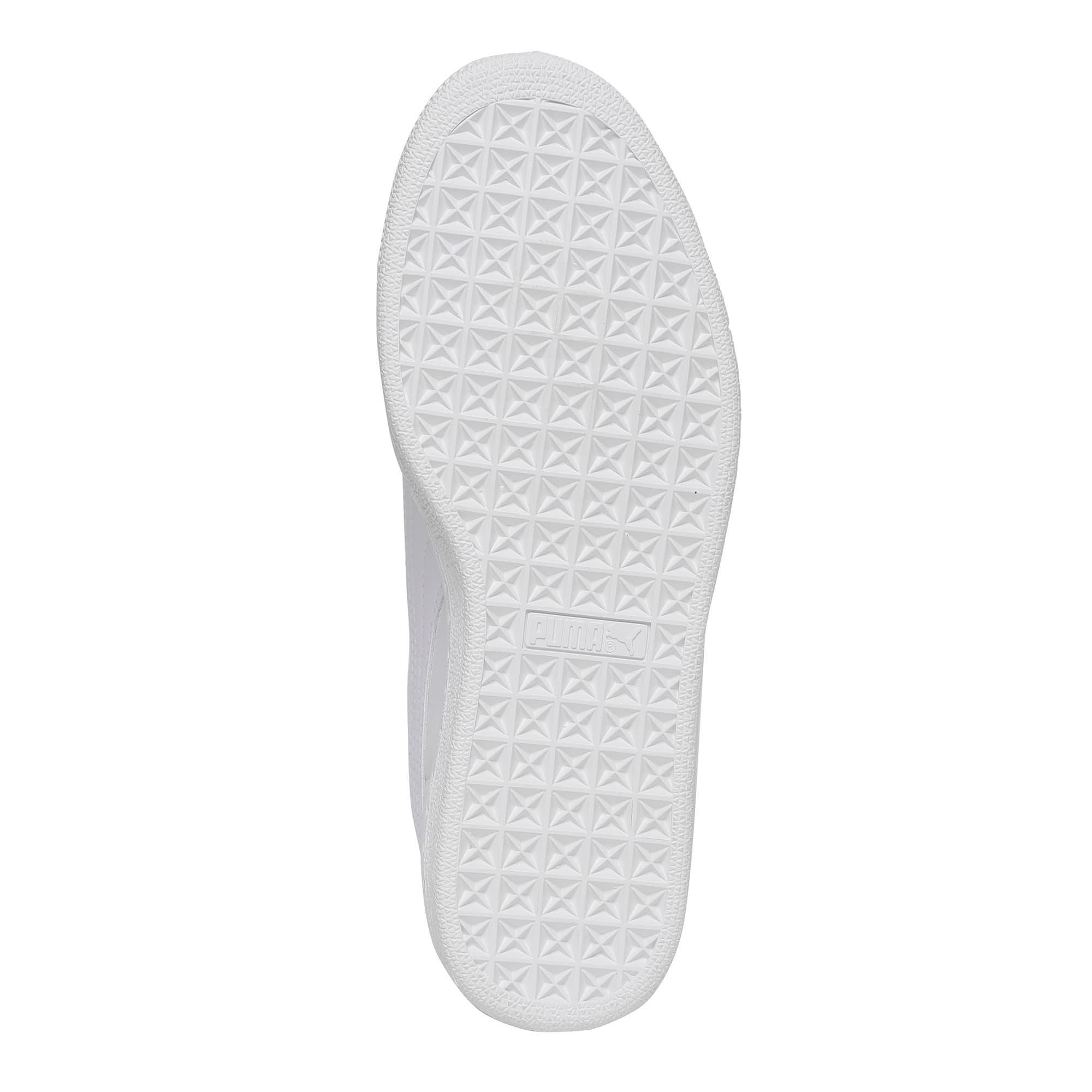 Thumbnail 3 of Basket Heart Gen Hustle Women's Sneakers, Puma White-Fair Aqua, medium-IND