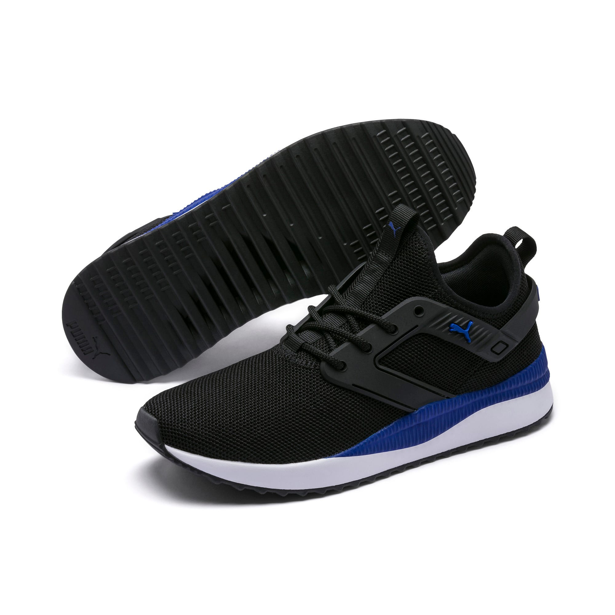 Thumbnail 5 of Pacer Next Excel Shoes, Puma Black-Surf The Web, medium-IND