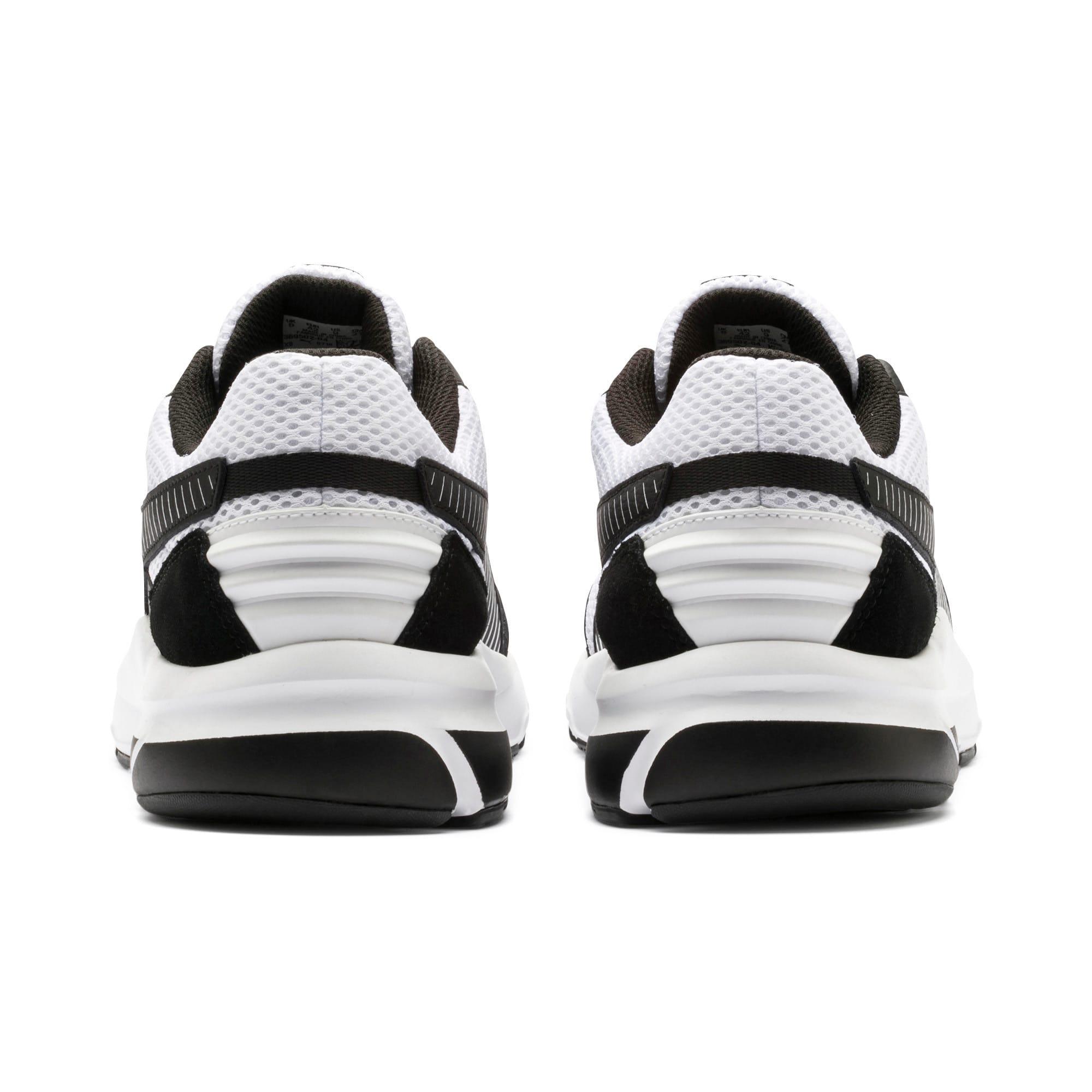 Thumbnail 5 of Future Runner Premium Running Shoes, Puma White-Puma Black, medium-IND