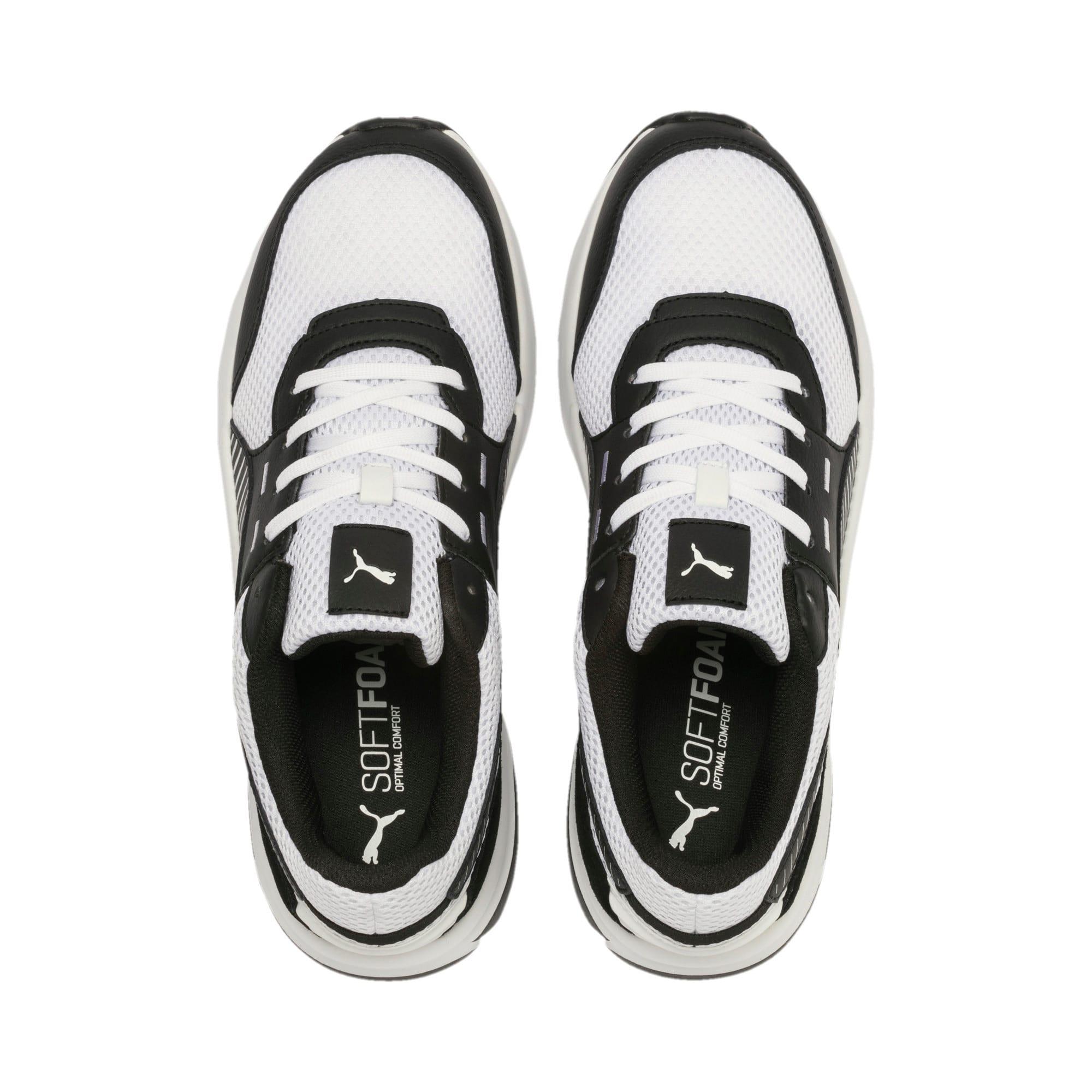 Thumbnail 4 of Future Runner Premium Running Shoes, Puma White-Puma Black, medium-IND