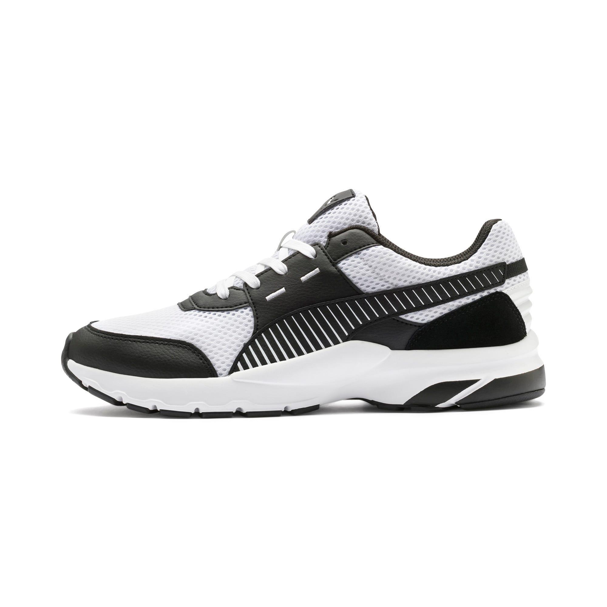 Thumbnail 1 of Future Runner Premium Running Shoes, Puma White-Puma Black, medium-IND