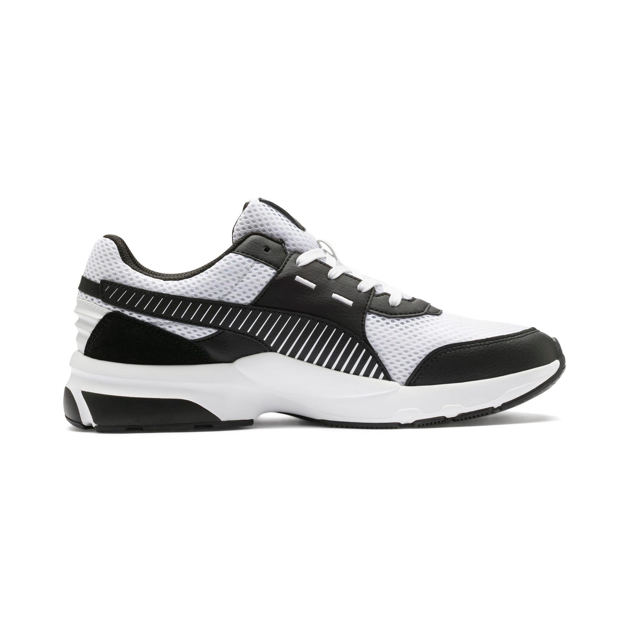 Thumbnail 7 of Future Runner Premium Running Shoes, Puma White-Puma Black, medium-IND