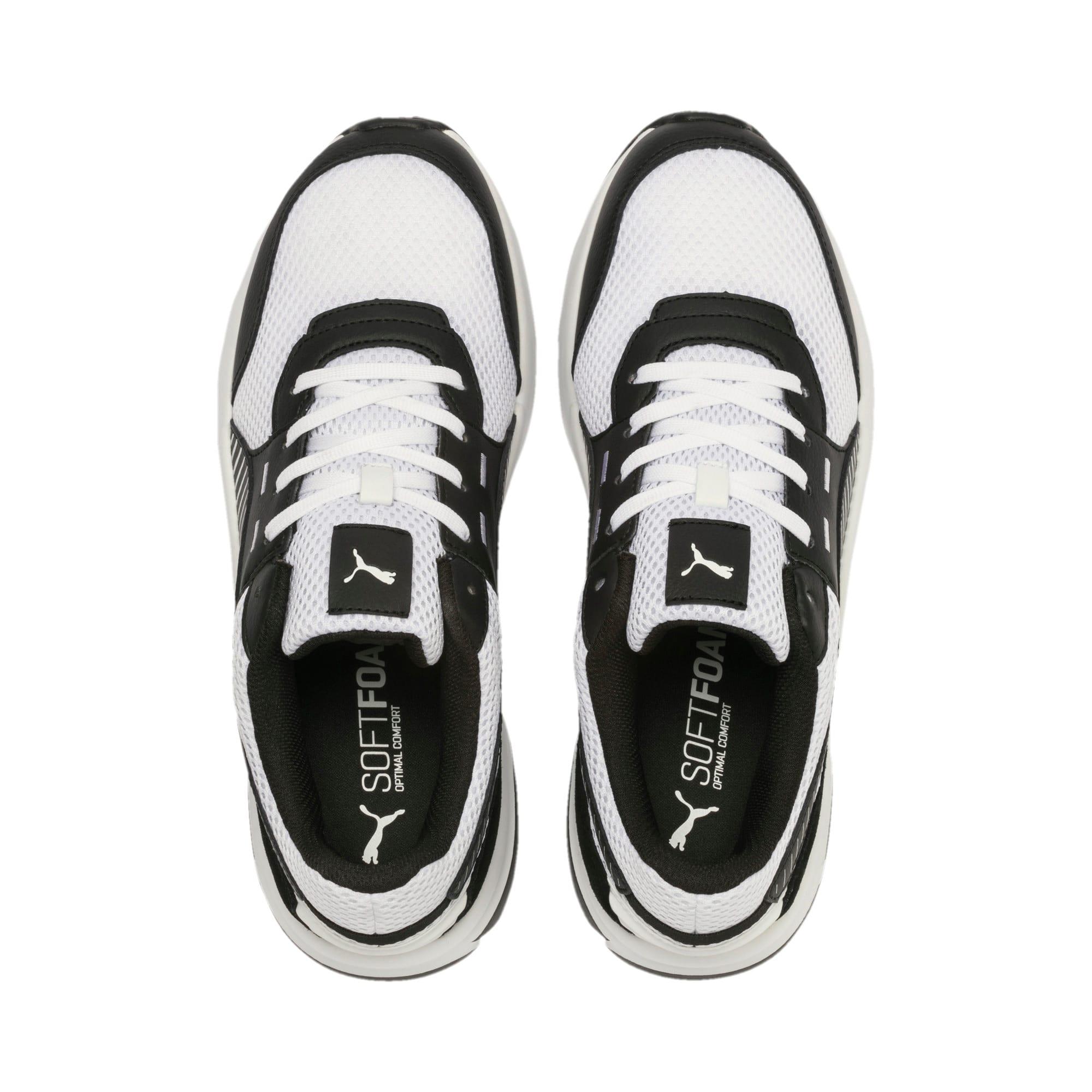 Thumbnail 8 of Future Runner Premium Running Shoes, Puma White-Puma Black, medium-IND