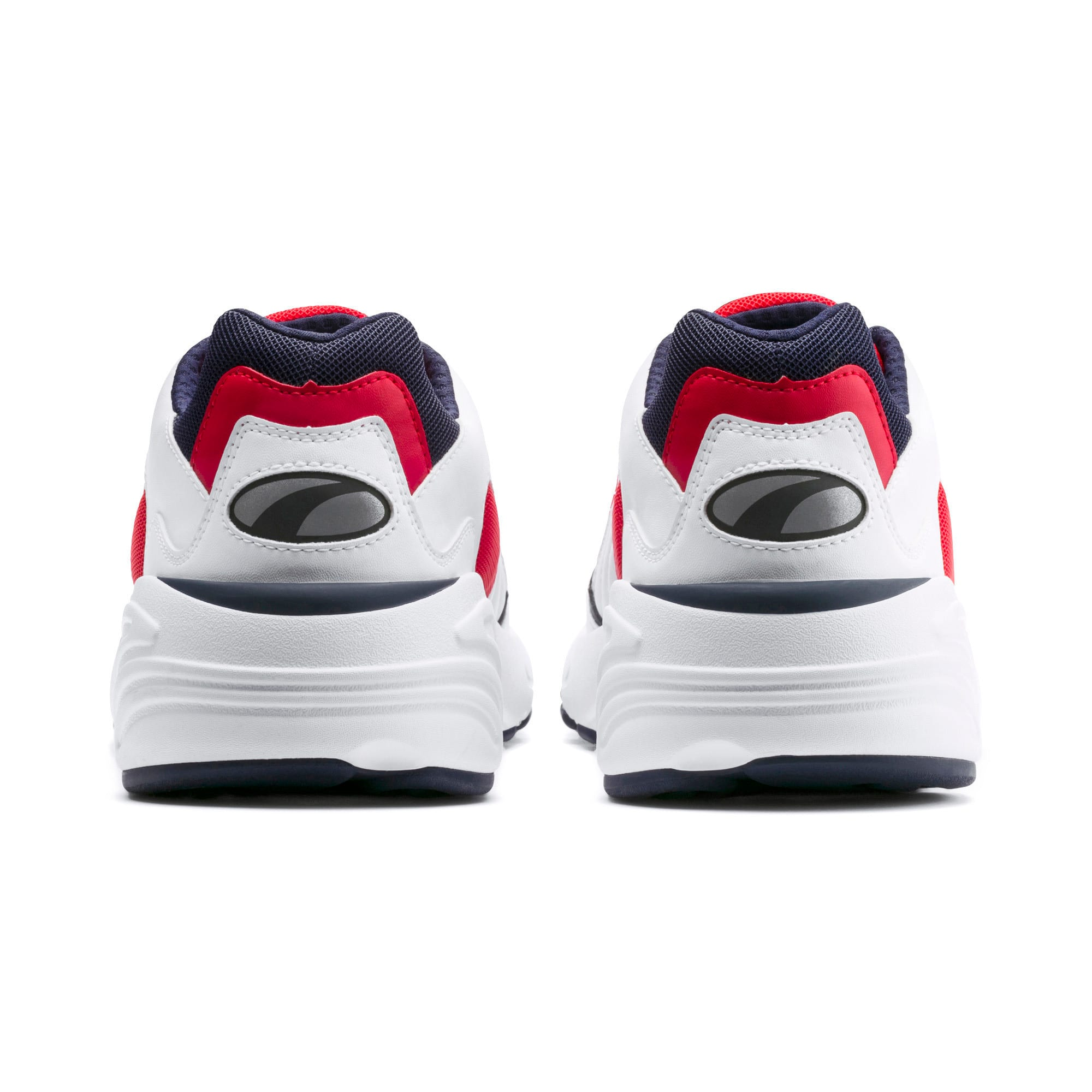 Thumbnail 3 of CELL Viper Sneakers, Puma White-High Risk Red, medium