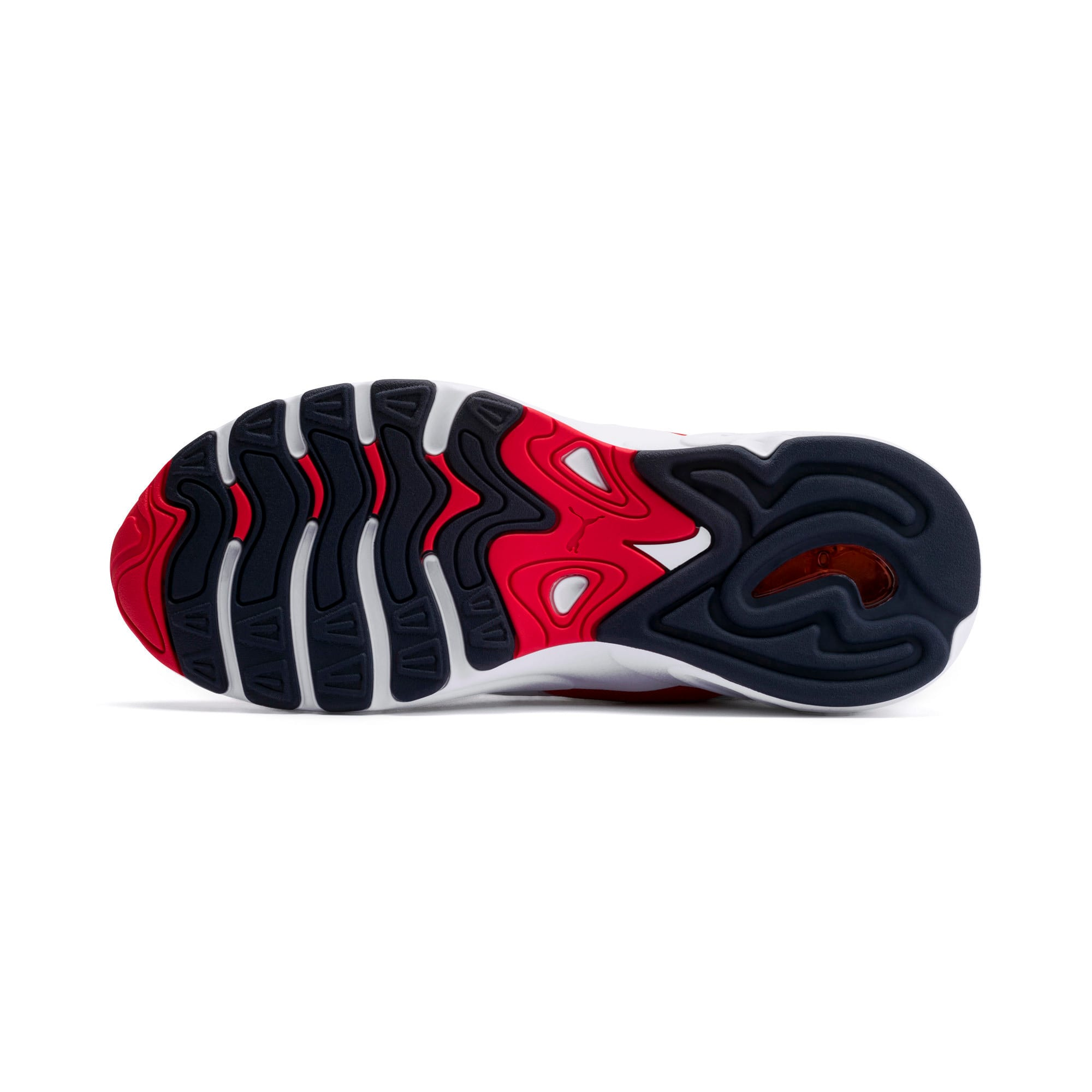 Thumbnail 4 of CELL Viper Sneakers, Puma White-High Risk Red, medium