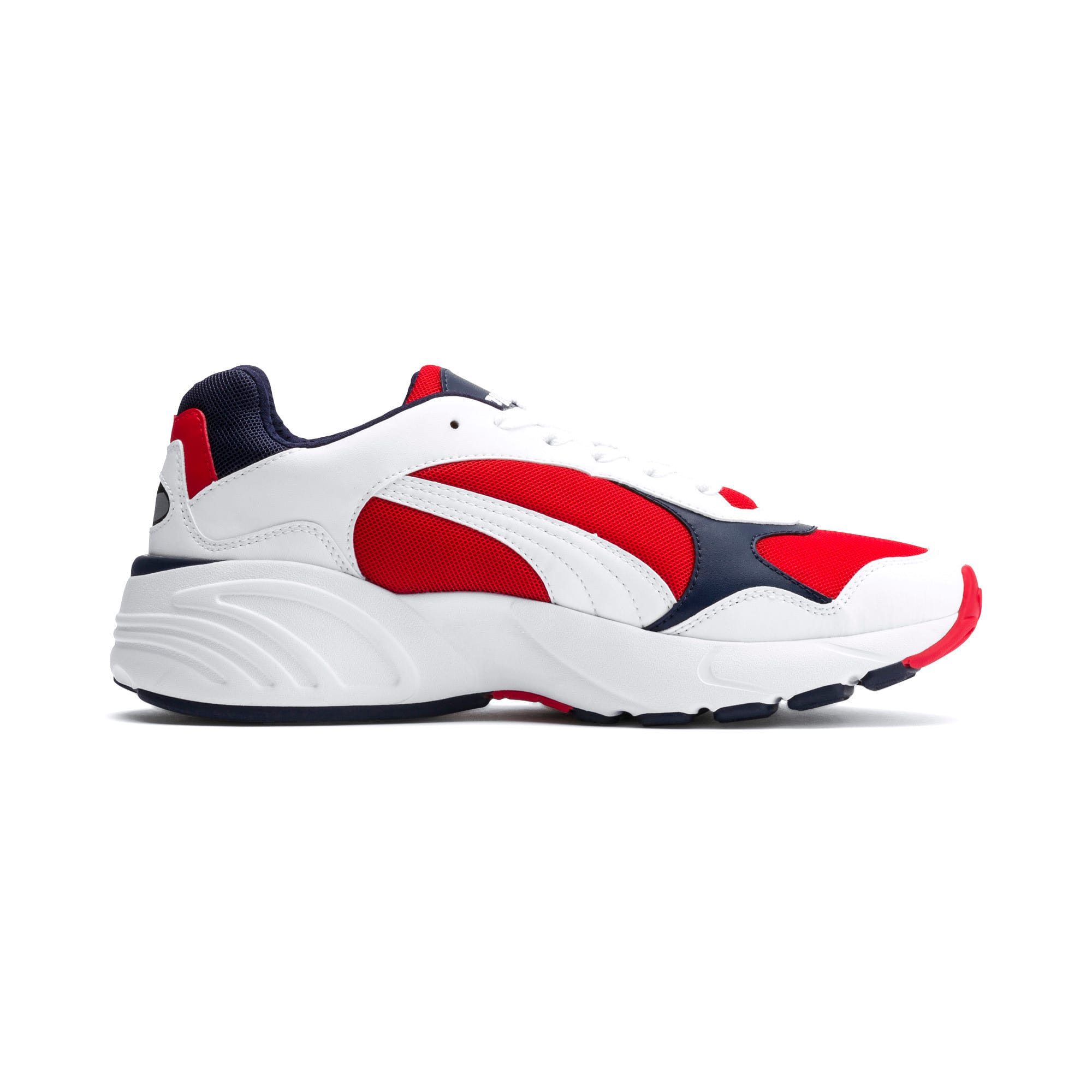 Thumbnail 5 of CELL Viper Sneakers, Puma White-High Risk Red, medium