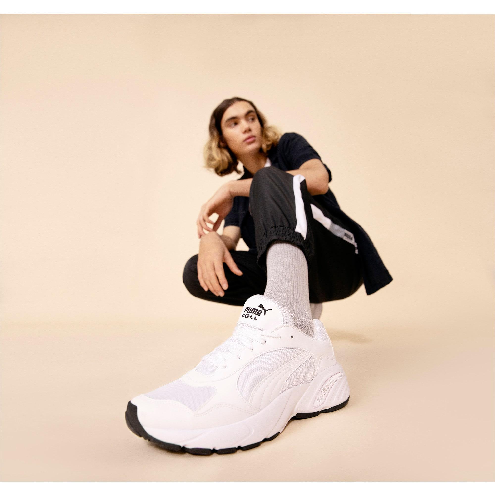 Thumbnail 7 of CELL Viper Sneakers, Puma White-Puma White, medium