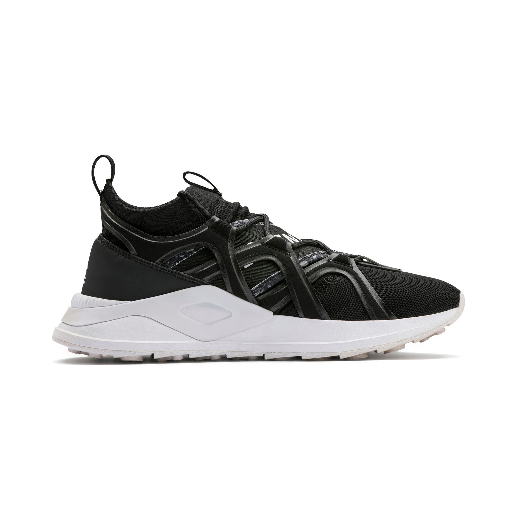 Thumbnail 7 of PUMA x LES BENJAMINS SHOKU Sneakers, Puma Black, medium