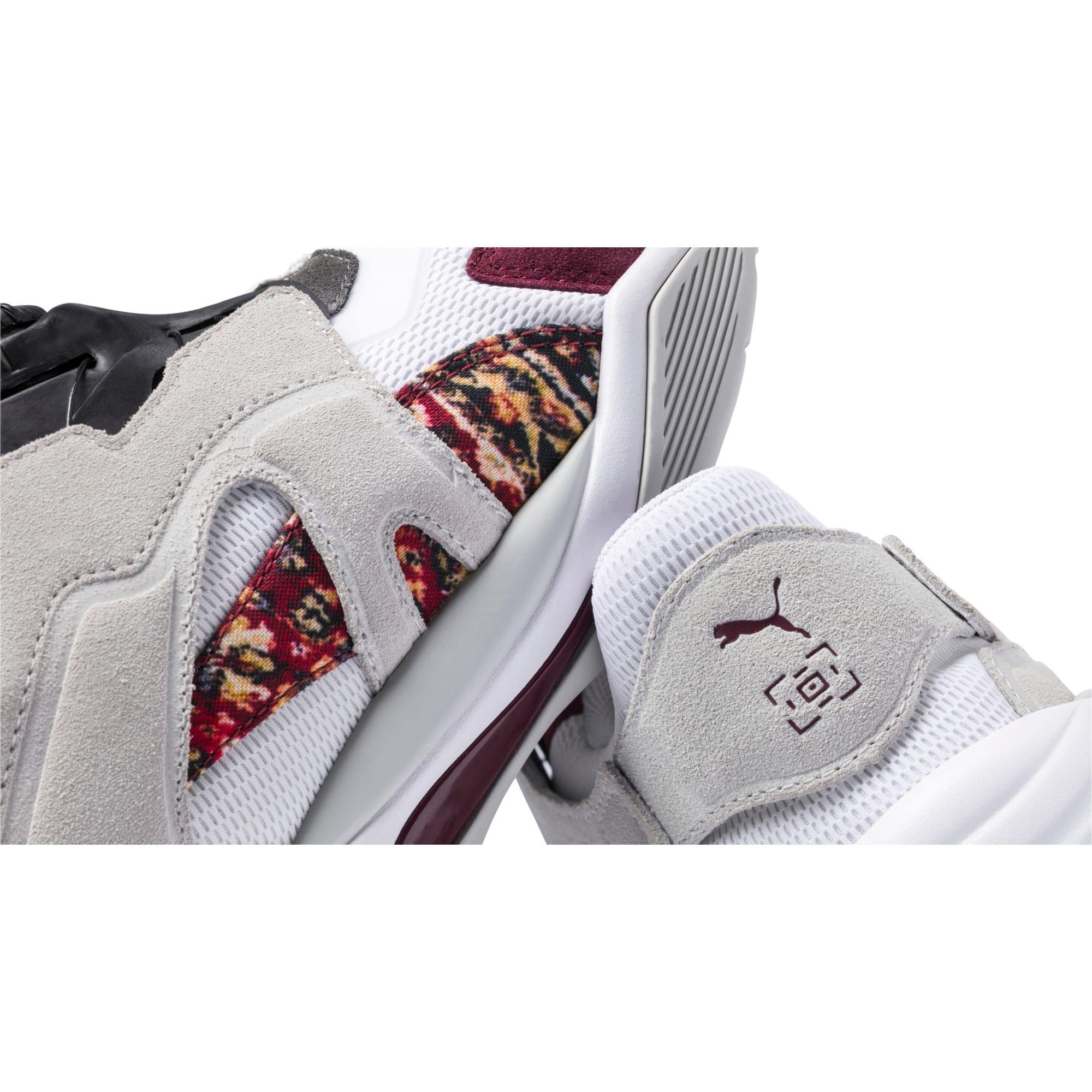 Thumbnail 9 of PUMA x LES BENJAMINS Thunder DISC Men's Sneakers, Puma White-Glacier Gray, medium
