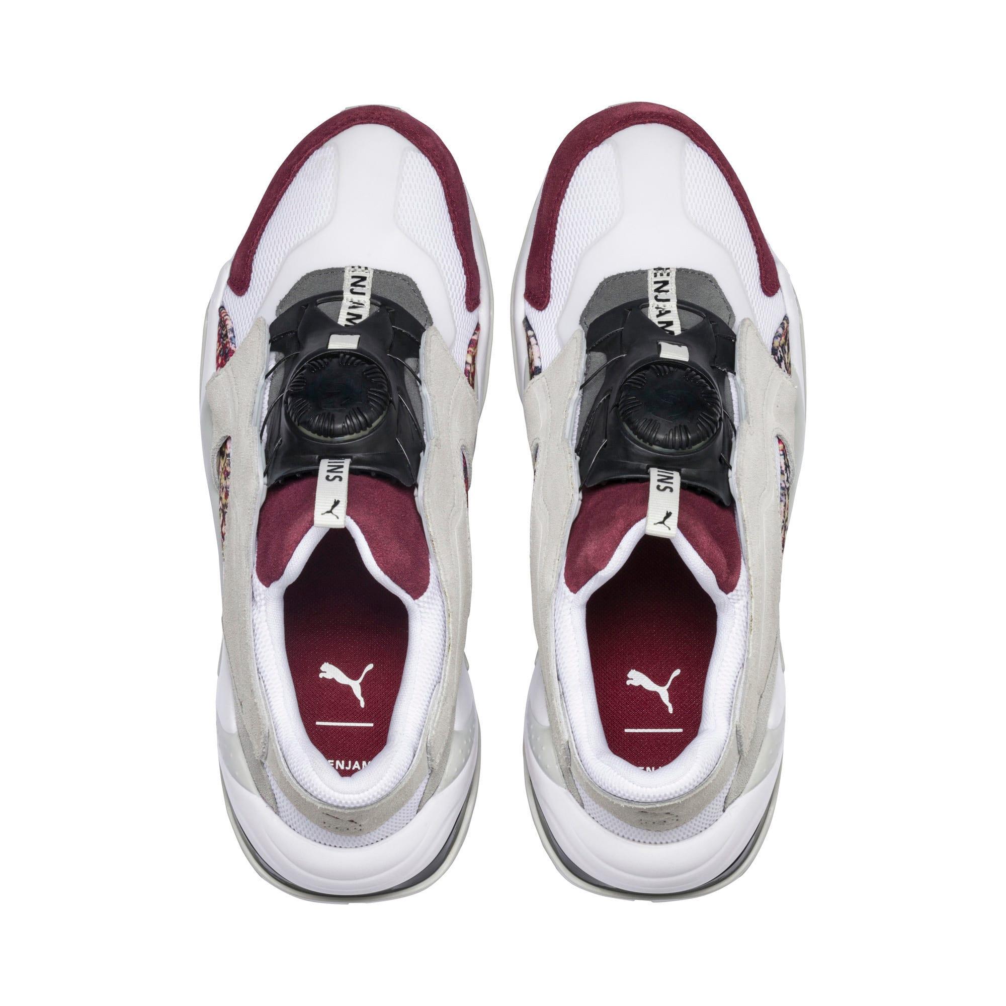 Thumbnail 7 of PUMA x LES BENJAMINS Thunder DISC Men's Sneakers, Puma White-Glacier Gray, medium