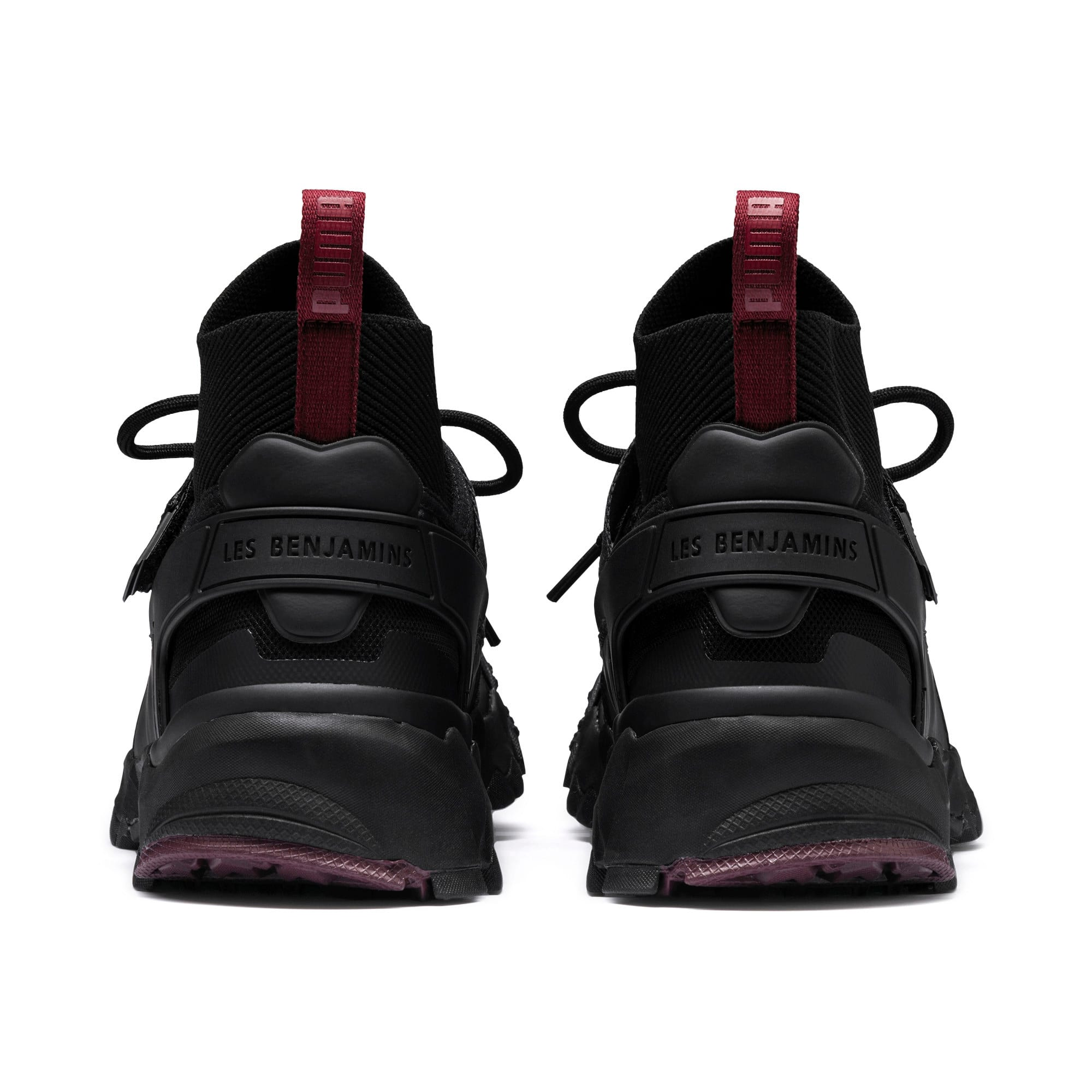 Thumbnail 4 of PUMA x LES BENJAMINS Trailfox Shoes, Puma Black, medium