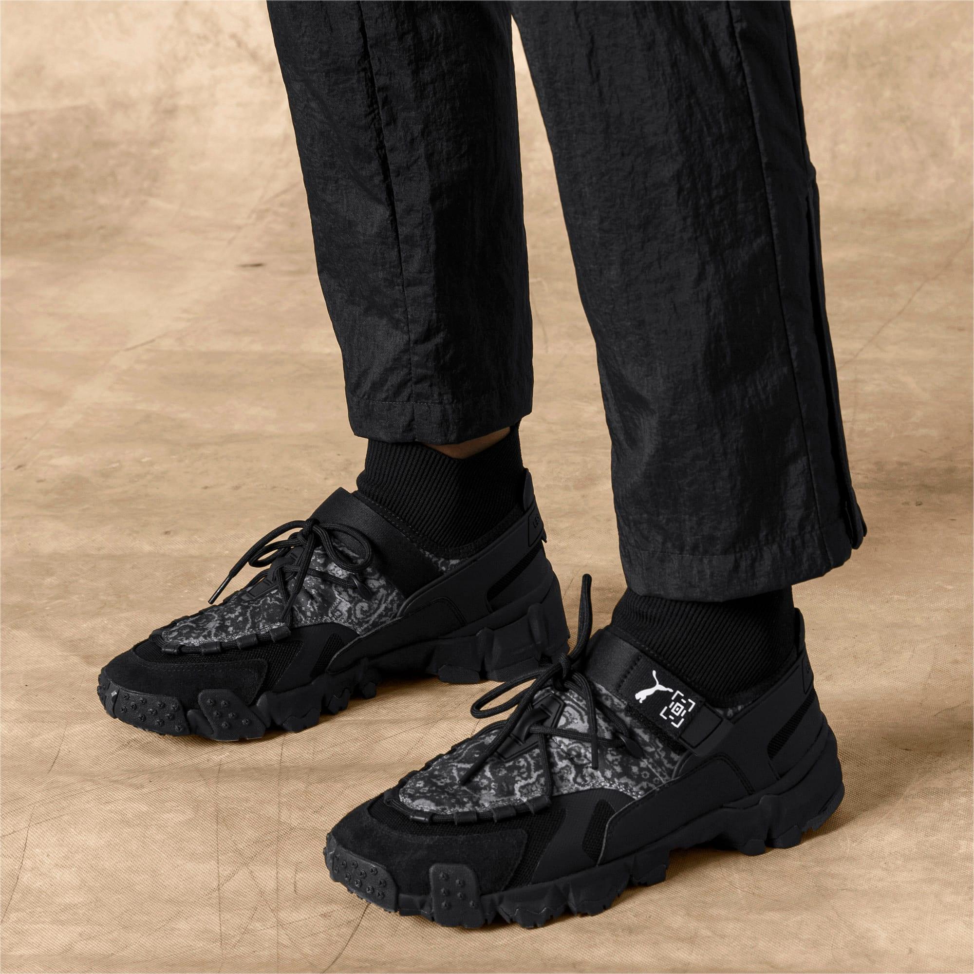 Thumbnail 2 van PUMA x LES BENJAMINS Trailfox schoenen, Puma Black, medium