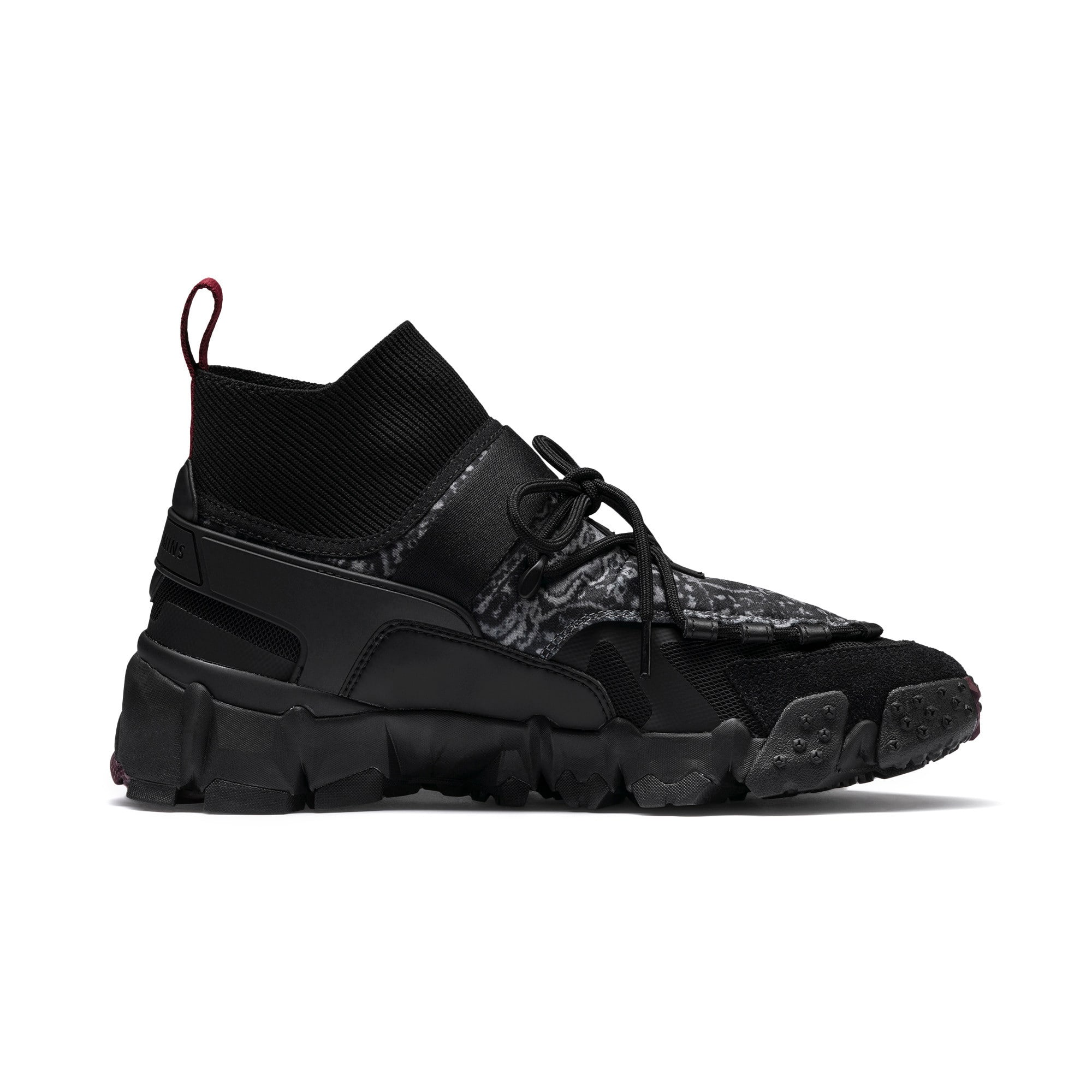 Thumbnail 6 of PUMA x LES BENJAMINS Trailfox Shoes, Puma Black, medium