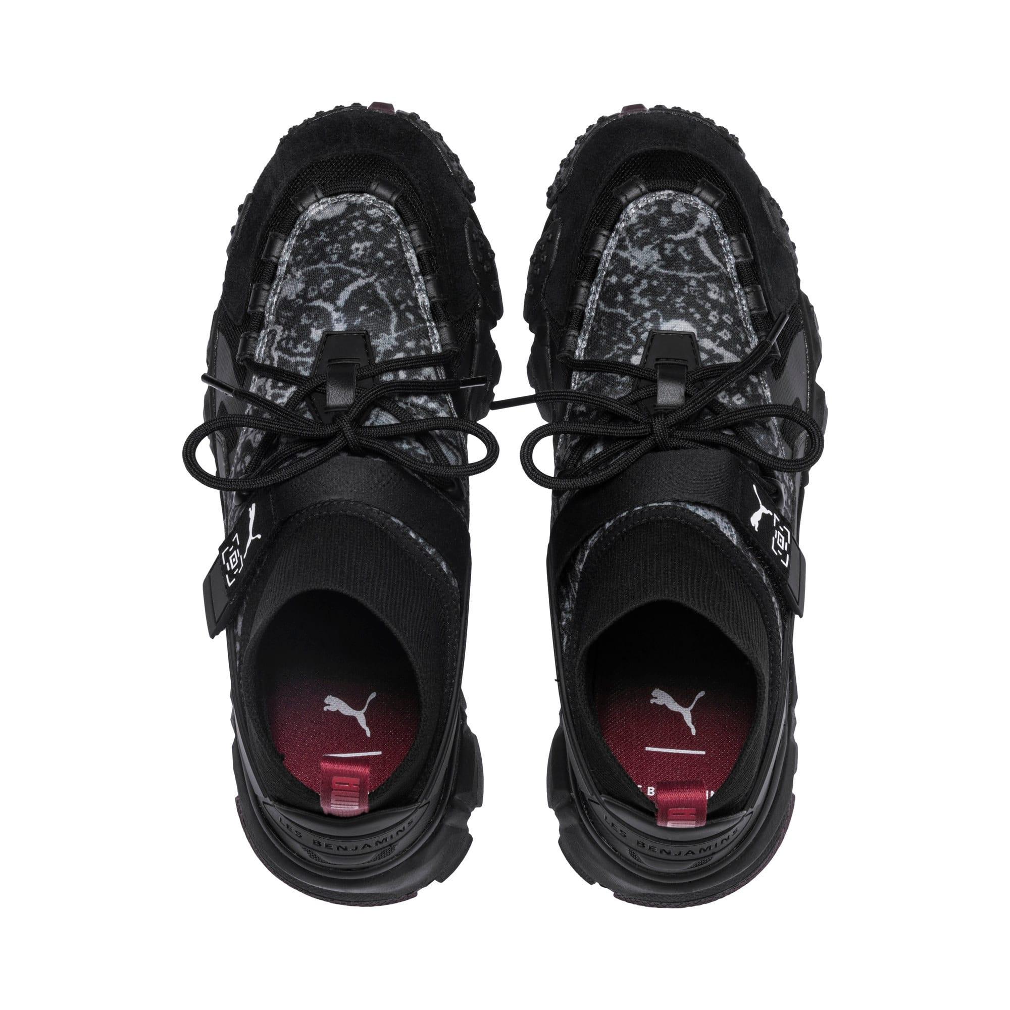 Thumbnail 7 van PUMA x LES BENJAMINS Trailfox schoenen, Puma Black, medium