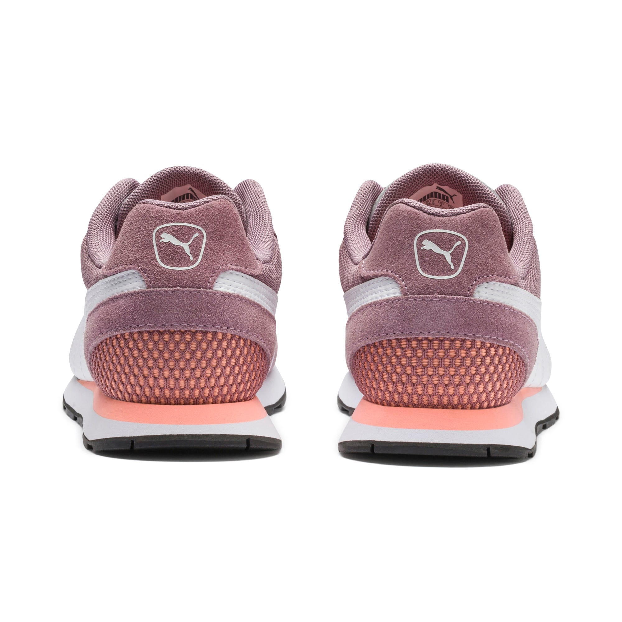 Thumbnail 4 of Vista Sneakers JR, Elderberry-Puma White, medium