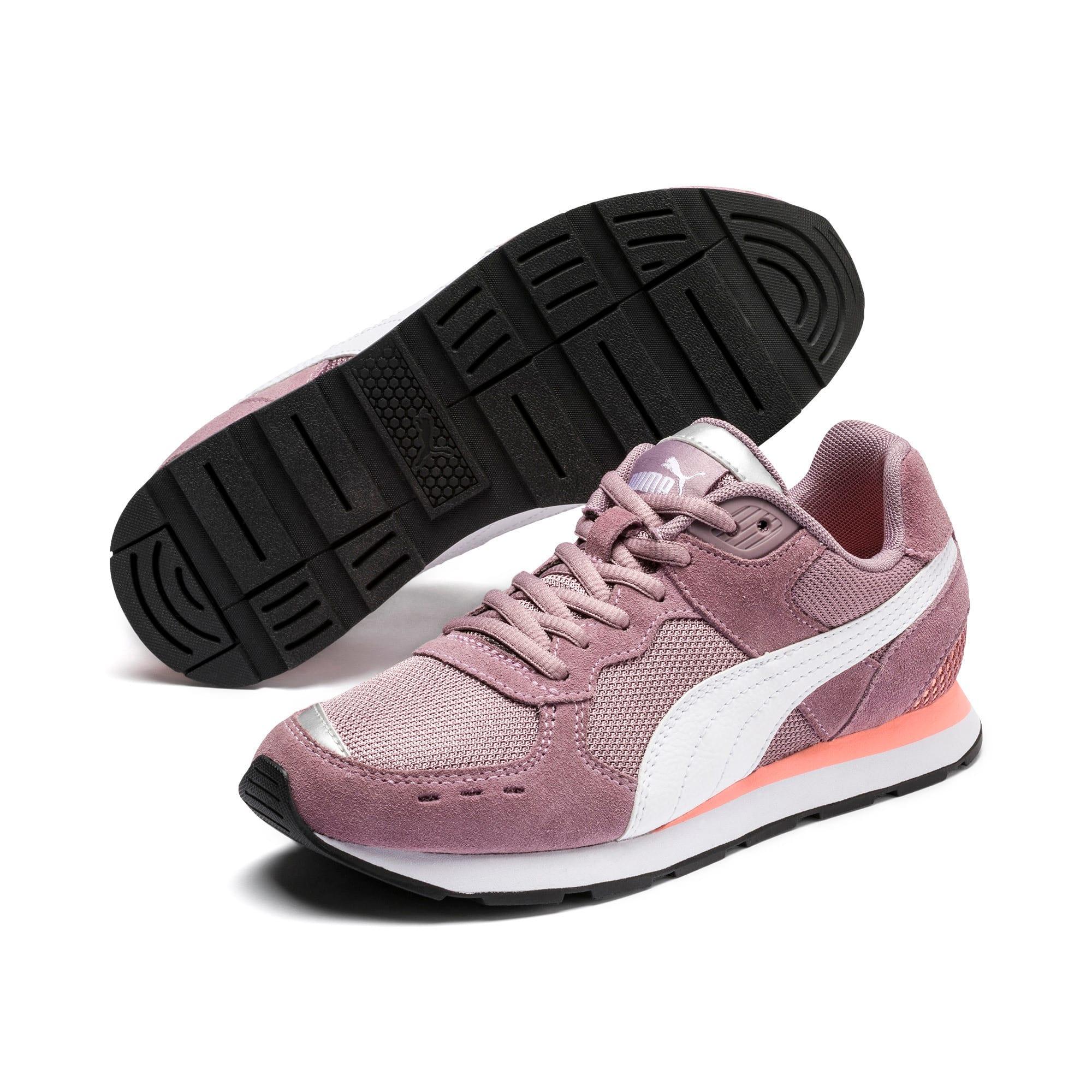 Thumbnail 2 of Vista Sneakers JR, Elderberry-Puma White, medium