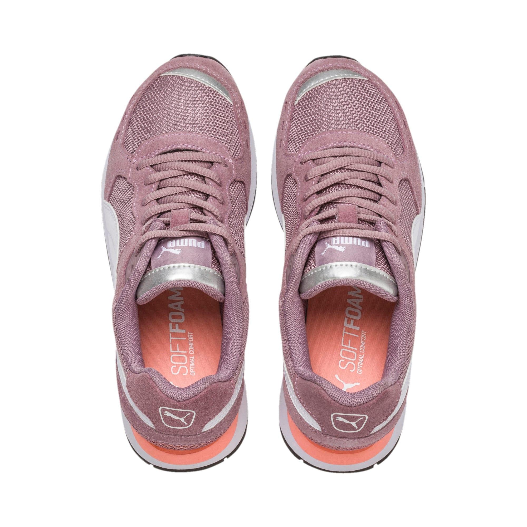 Thumbnail 6 of Vista Sneakers JR, Elderberry-Puma White, medium