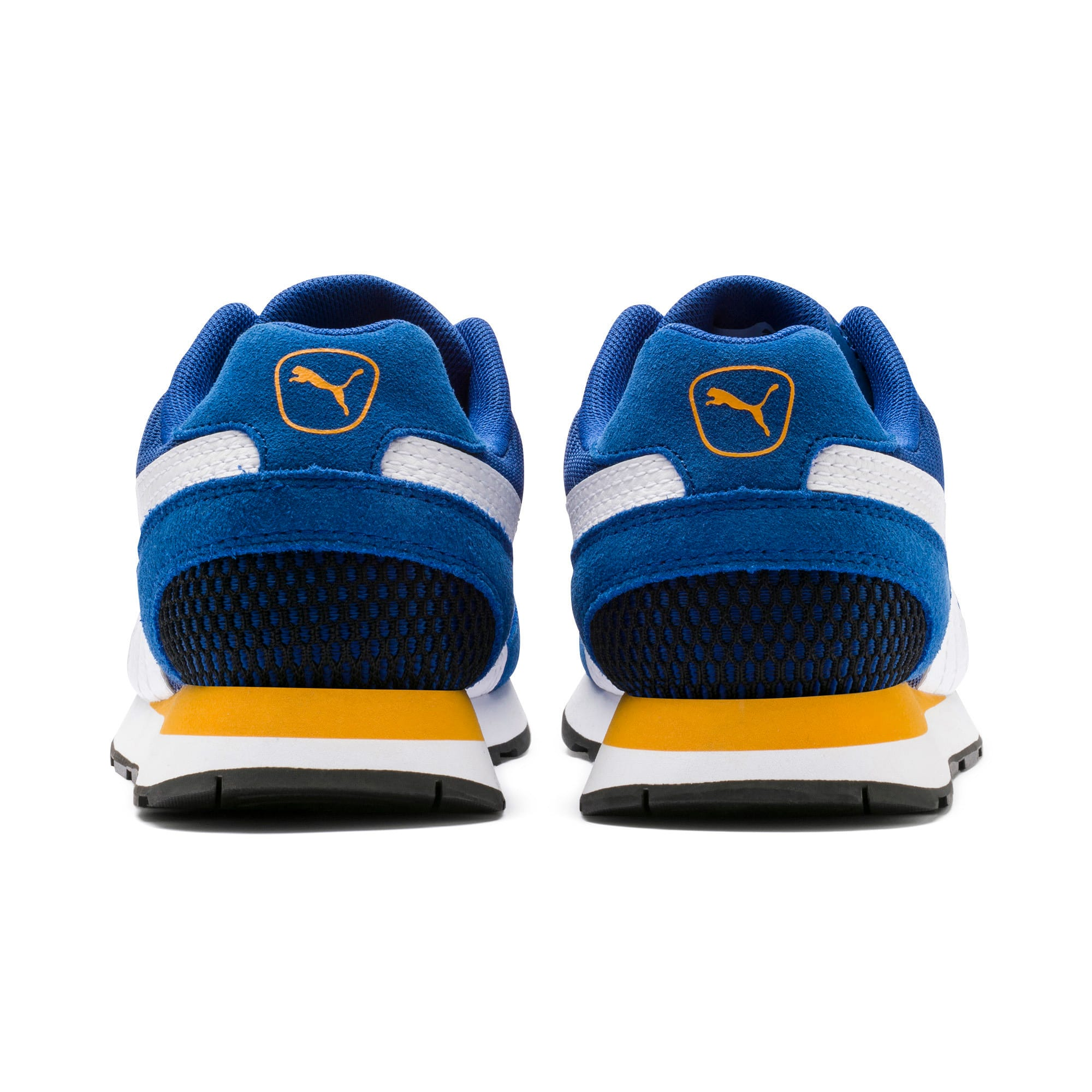 Thumbnail 3 of Vista Youth Trainers, Galaxy Blue-Puma White, medium-IND