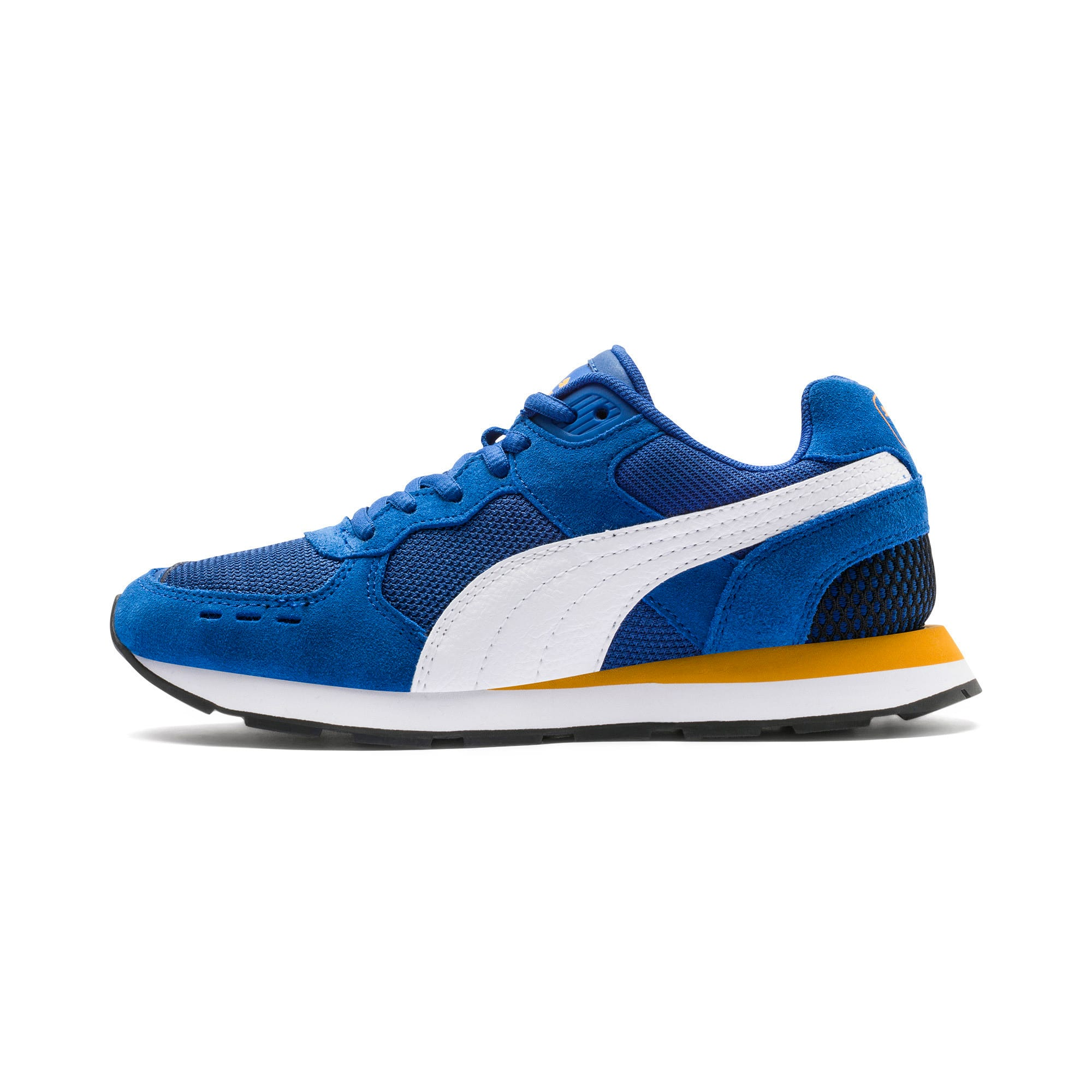 Thumbnail 1 of Vista Youth Trainers, Galaxy Blue-Puma White, medium-IND