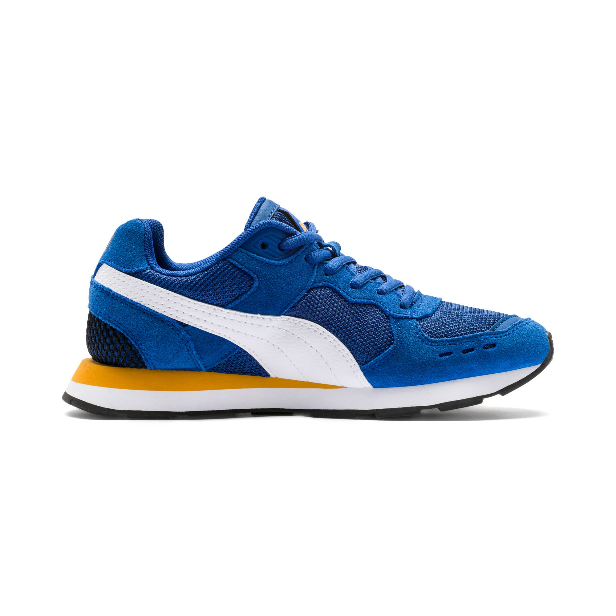 Thumbnail 5 of Vista Youth Trainers, Galaxy Blue-Puma White, medium-IND