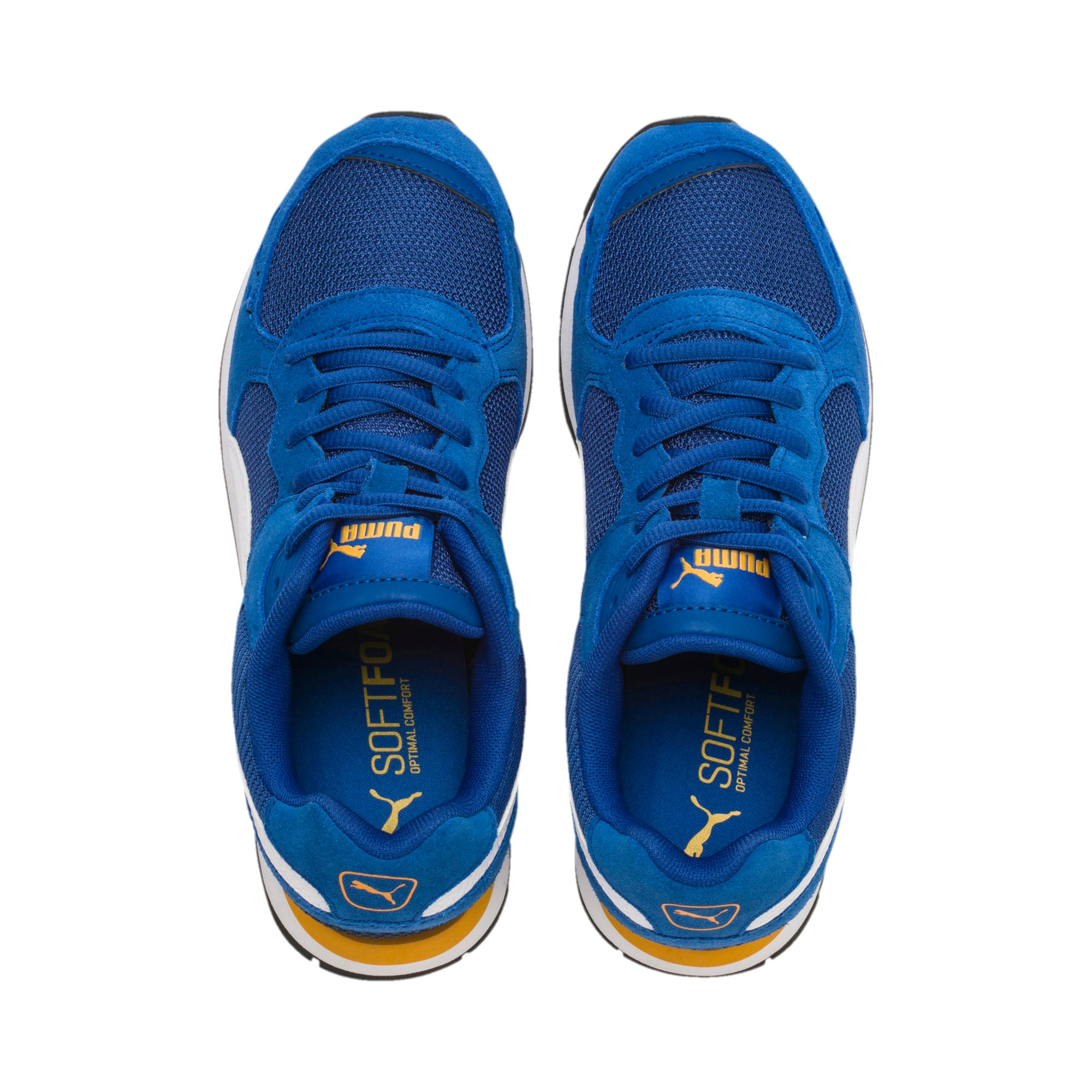 Thumbnail 6 of Vista Youth Trainers, Galaxy Blue-Puma White, medium-IND