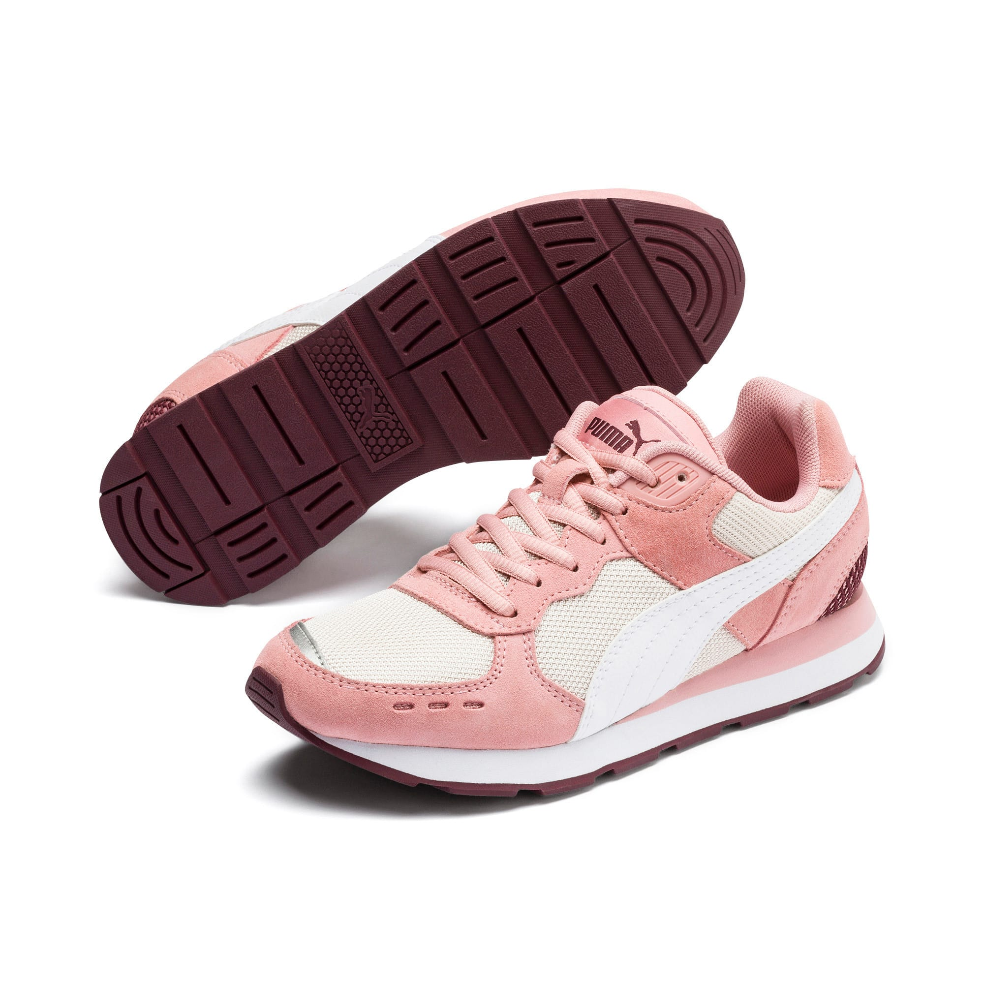 Thumbnail 2 of Vista Youth Trainers, Bridal Rose-Puma White, medium