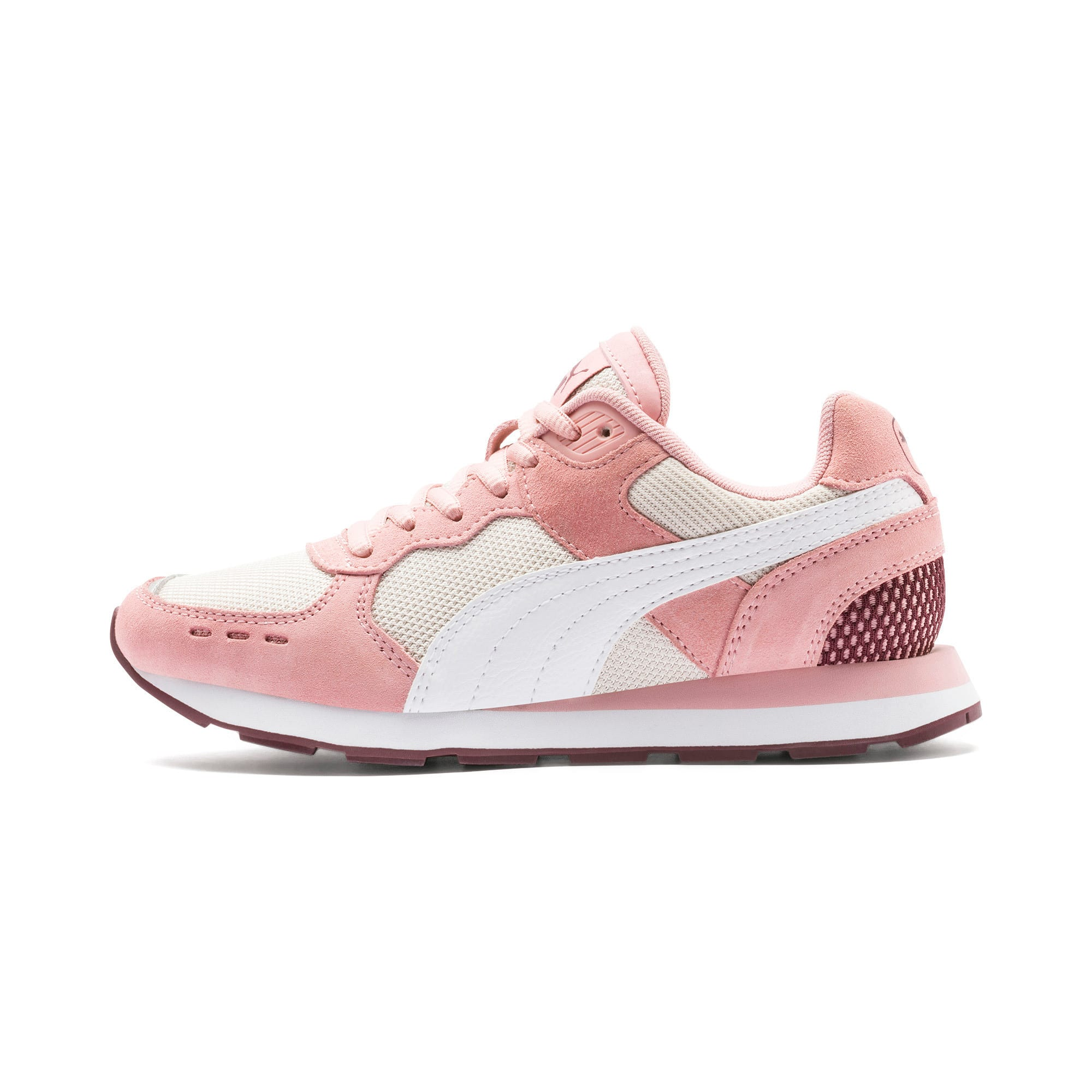 Thumbnail 1 of Vista Youth Trainers, Bridal Rose-Puma White, medium