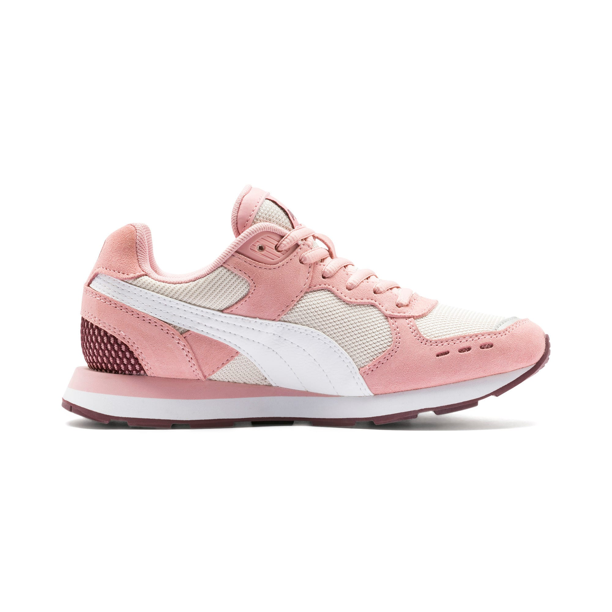 Thumbnail 5 of Vista Youth Trainers, Bridal Rose-Puma White, medium