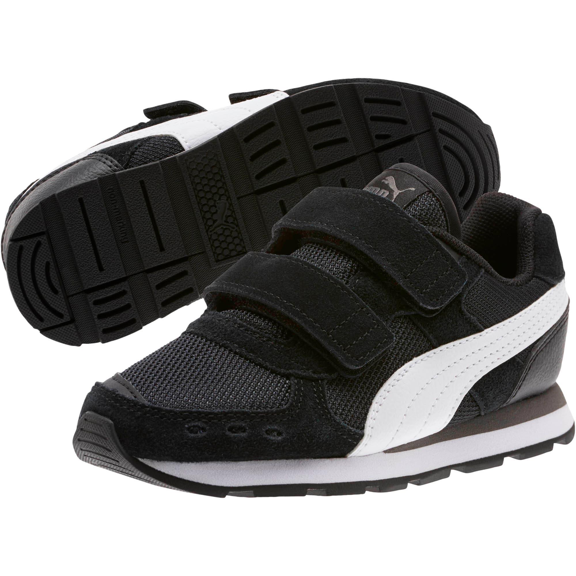 Miniatura 2 de Zapatos Vista para niños, Puma Black-Puma White, mediano