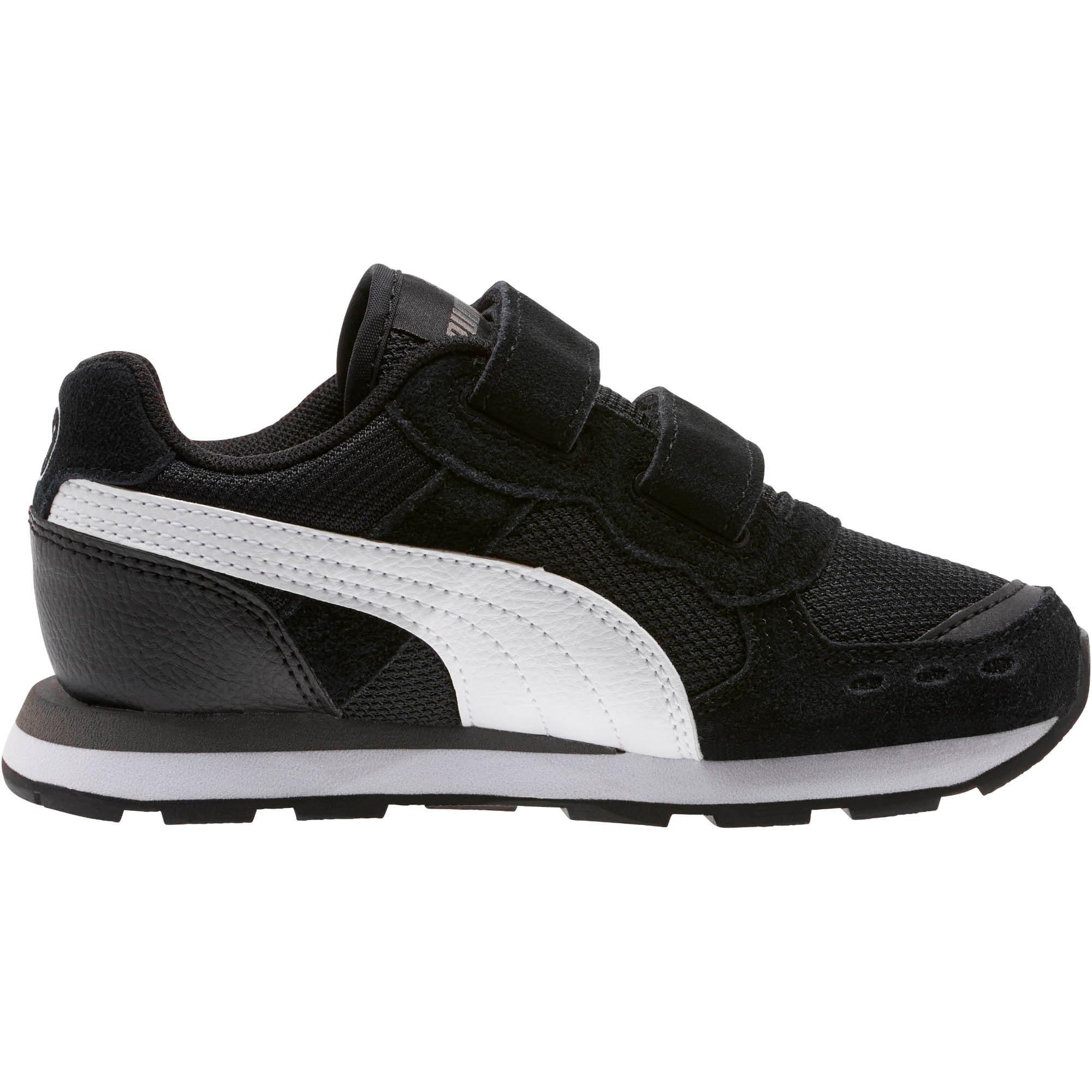 Miniatura 3 de Zapatos Vista para niños, Puma Black-Puma White, mediano